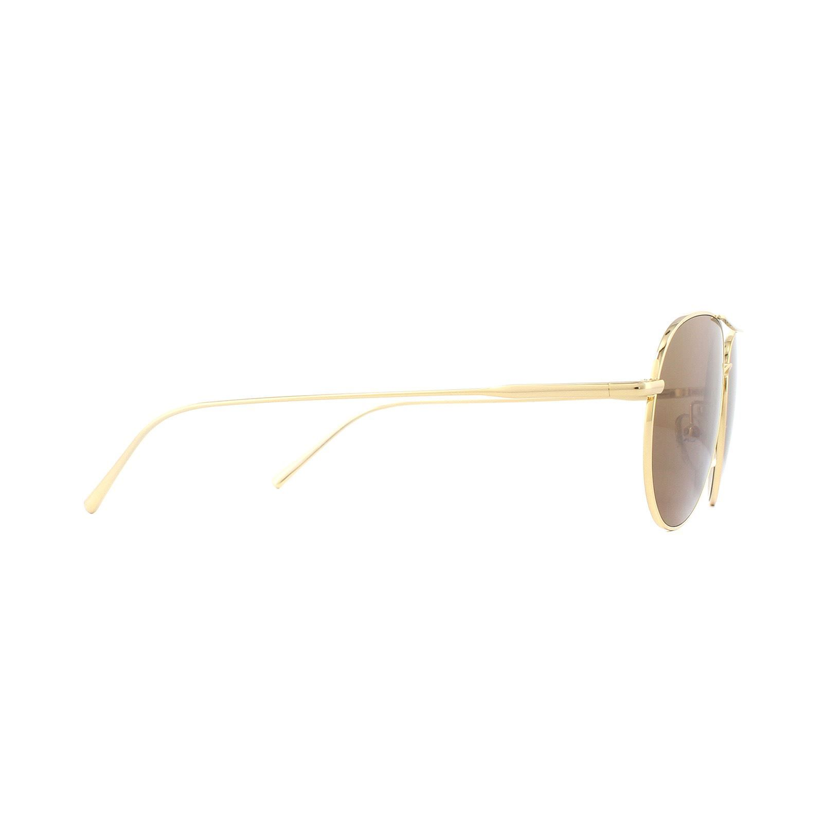 Calvin Klein Sunglasses CK2155S 714 Gold Brown Gold Mirror