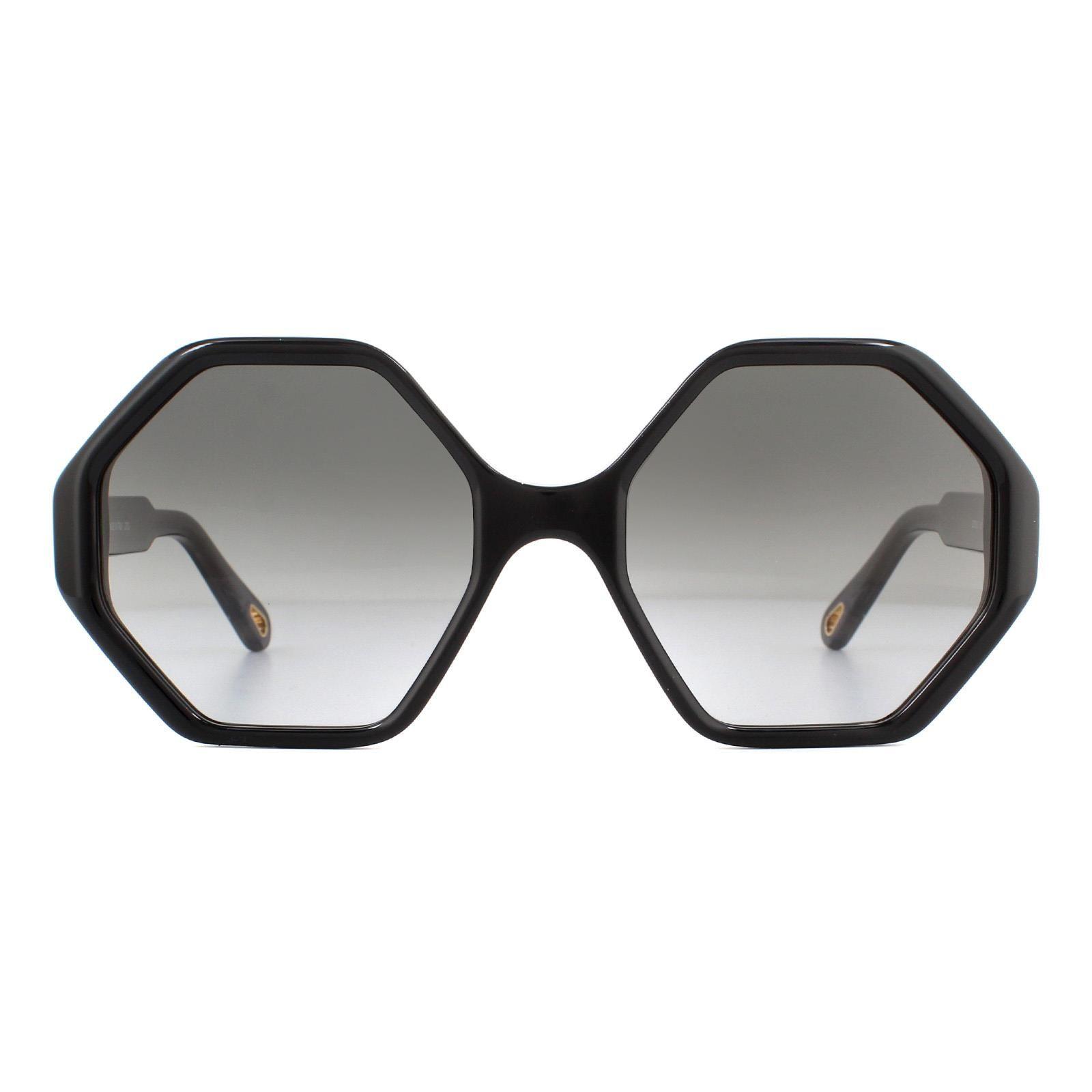 Chloe Sunglasses CE750S 001 Black Dark Grey Gradient