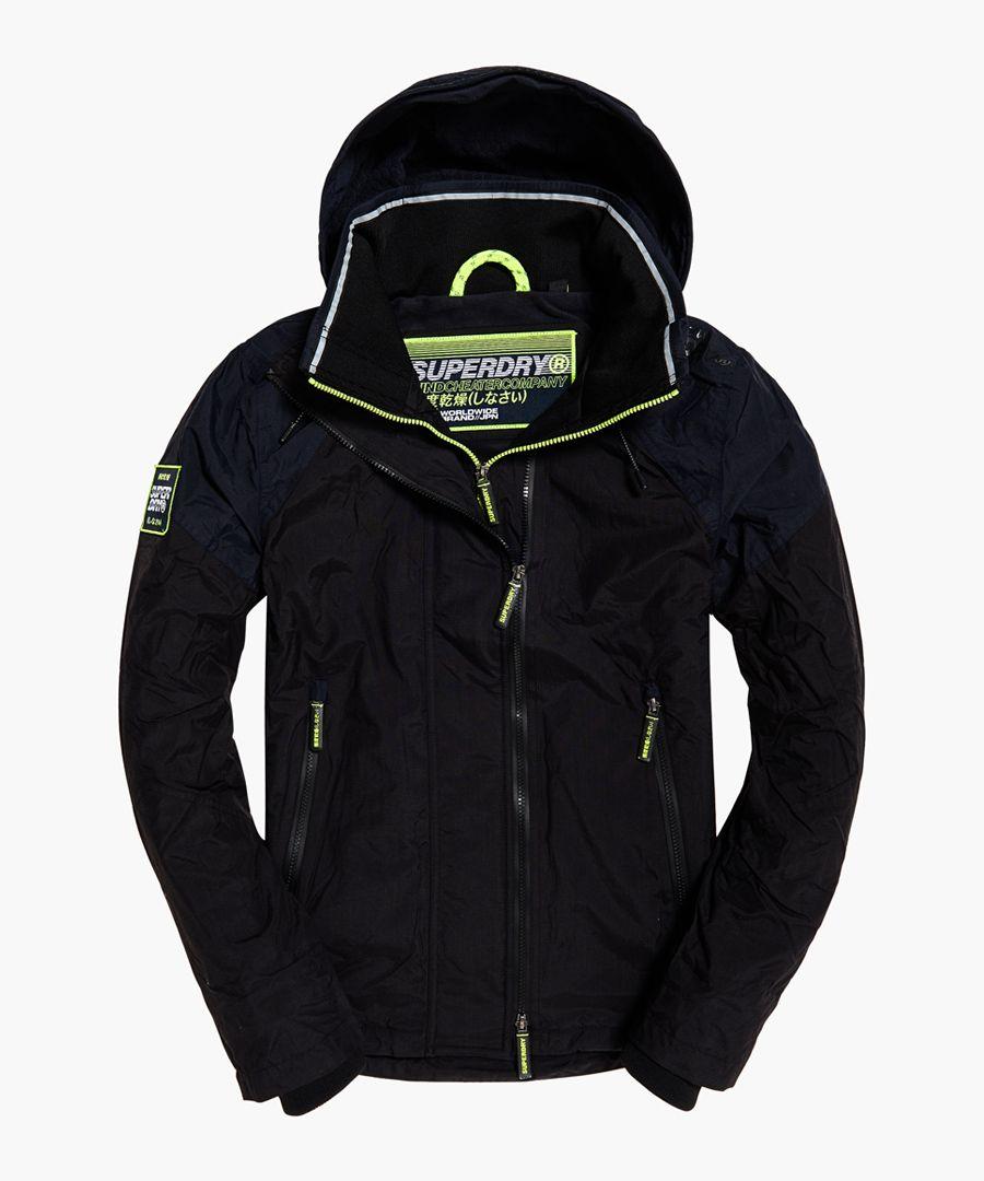 Windcheater Arctic Intron blue hooded jacket