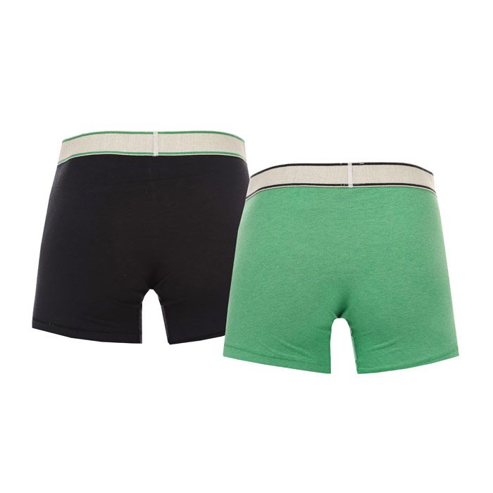 Men's Levi's 2 Pack Boxer Shorts In Green