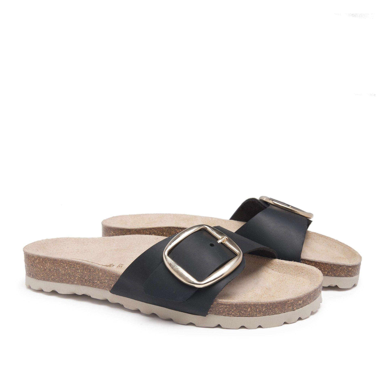 Bio Sandals Woman Black Sandals Maria Barcelo