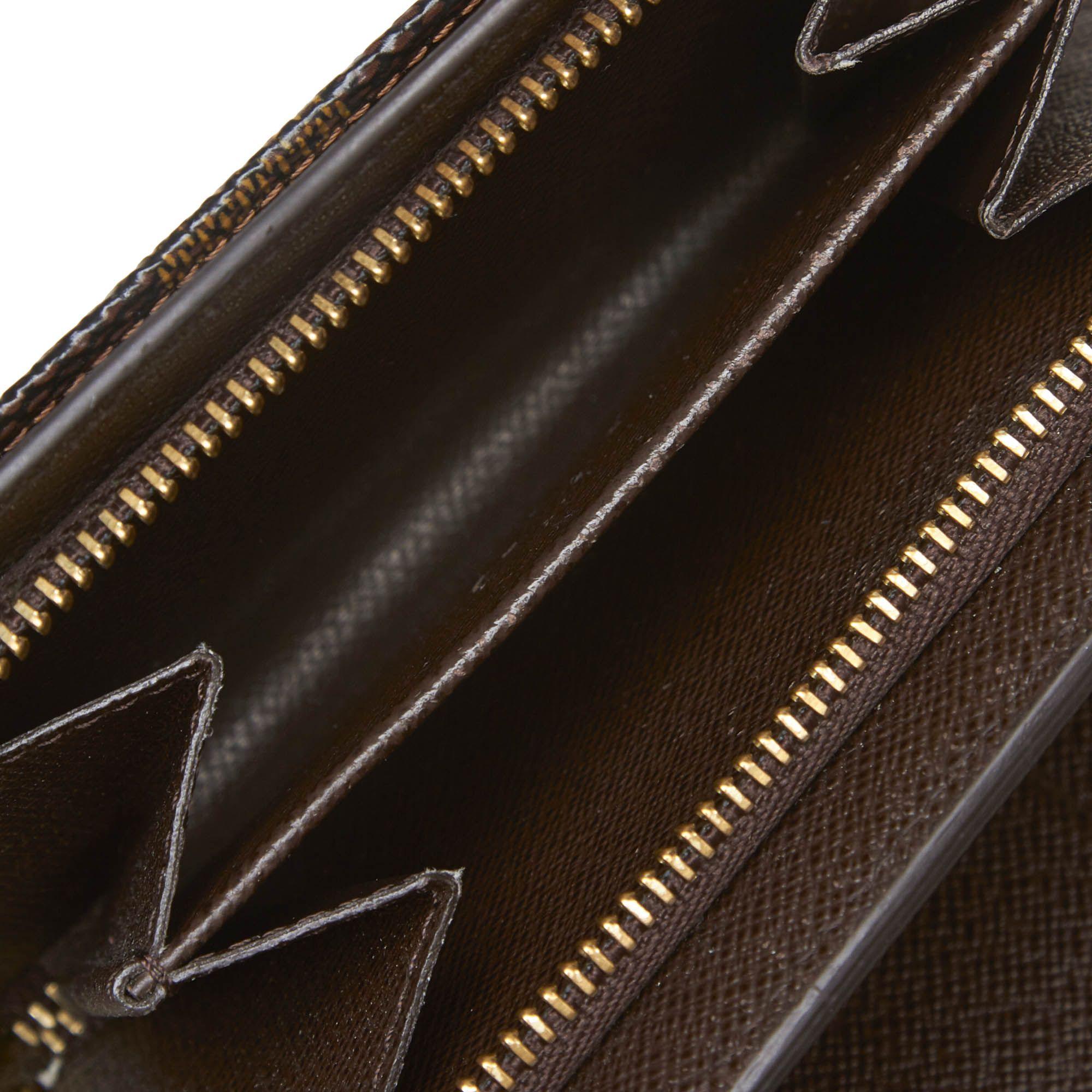 Vintage Louis Vuitton Damier Ebene Joey Brown