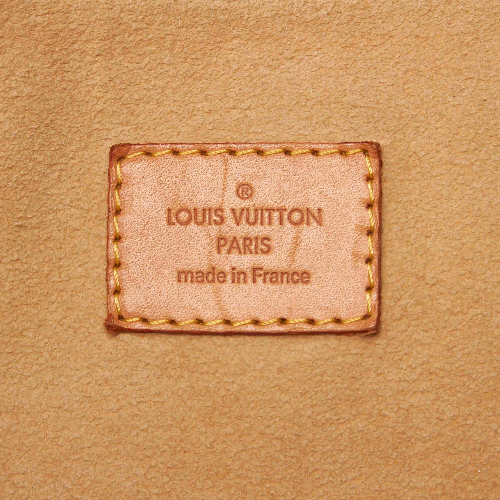 Vintage Louis Vuitton Damier Azur Evora MM White
