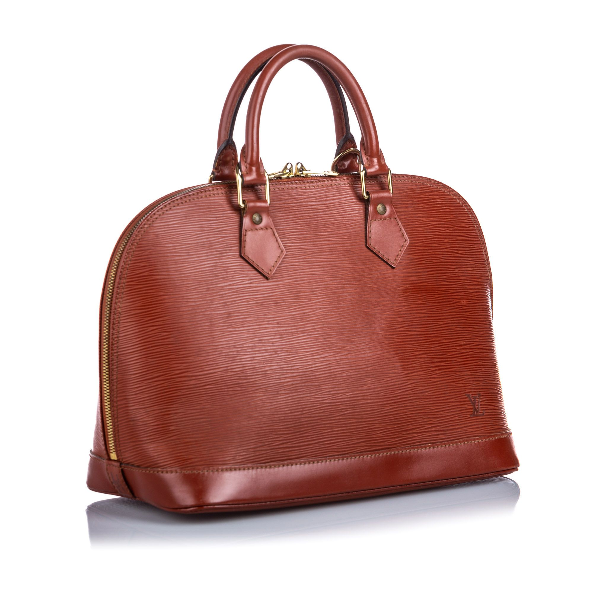 Vintage Louis Vuitton Epi Alma PM Brown