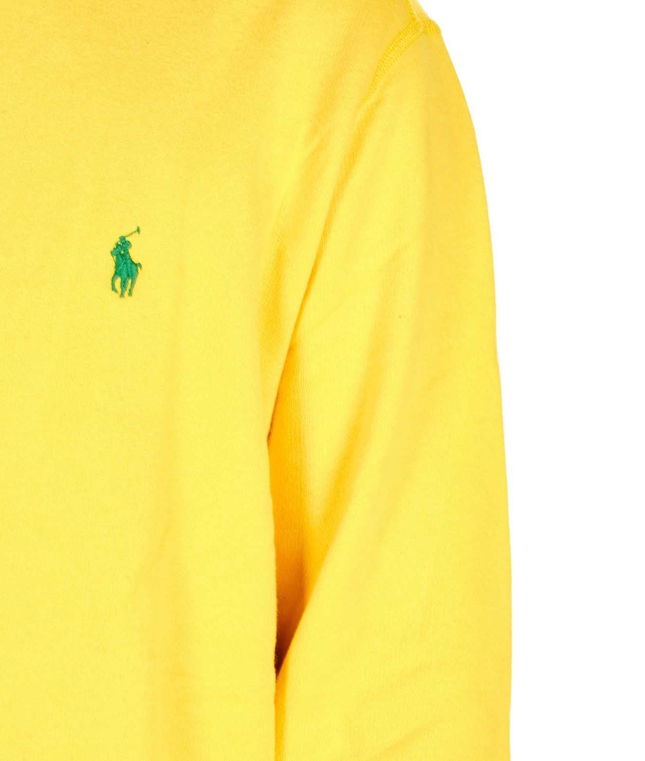 RALPH LAUREN MEN'S 710766778004 YELLOW COTTON SWEATSHIRT