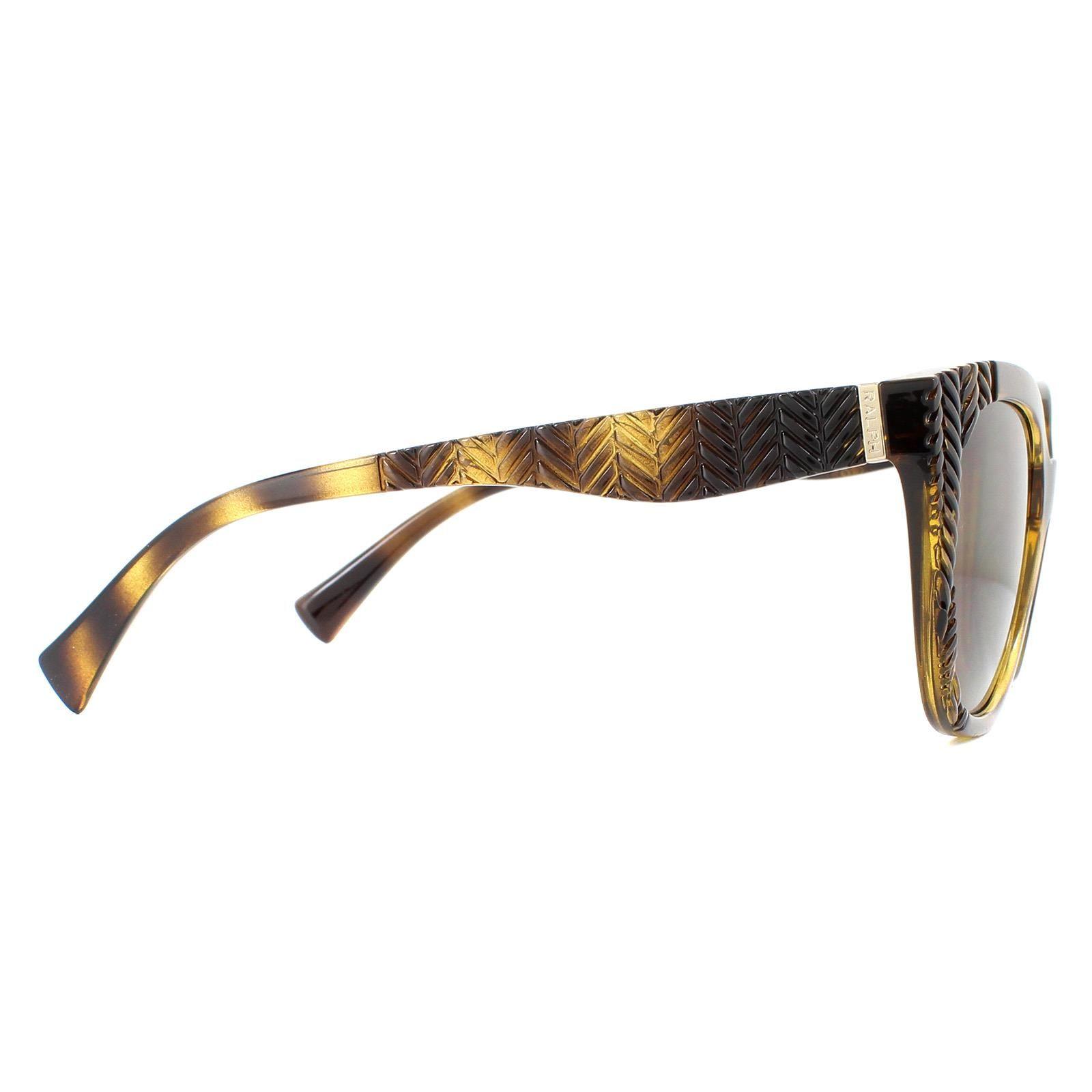 Ralph by Ralph Lauren Sunglasses RA5253 500373 Dark Havana Brown