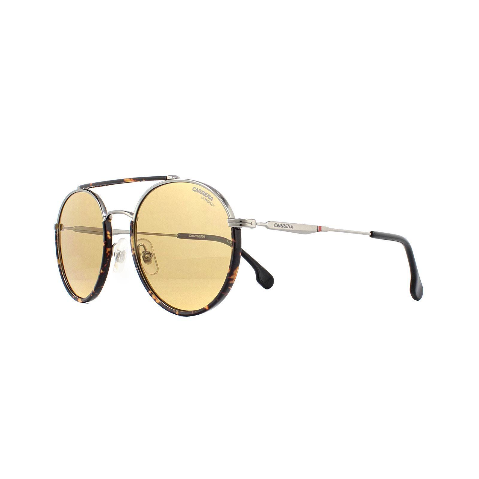 Carrera Sunglasses 208/S 6LB 70 Ruthenium Brown