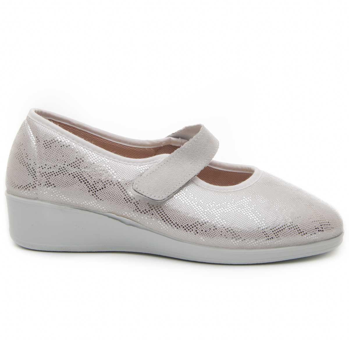 Montevita Comfortable Slipper in Silver
