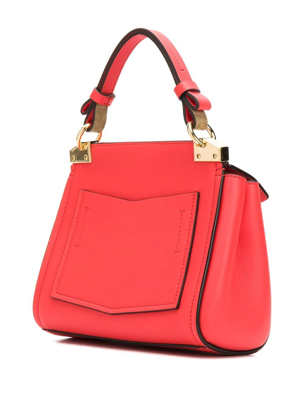 GIVENCHY WOMEN'S BB50C3B0LG600 RED LEATHER HANDBAG