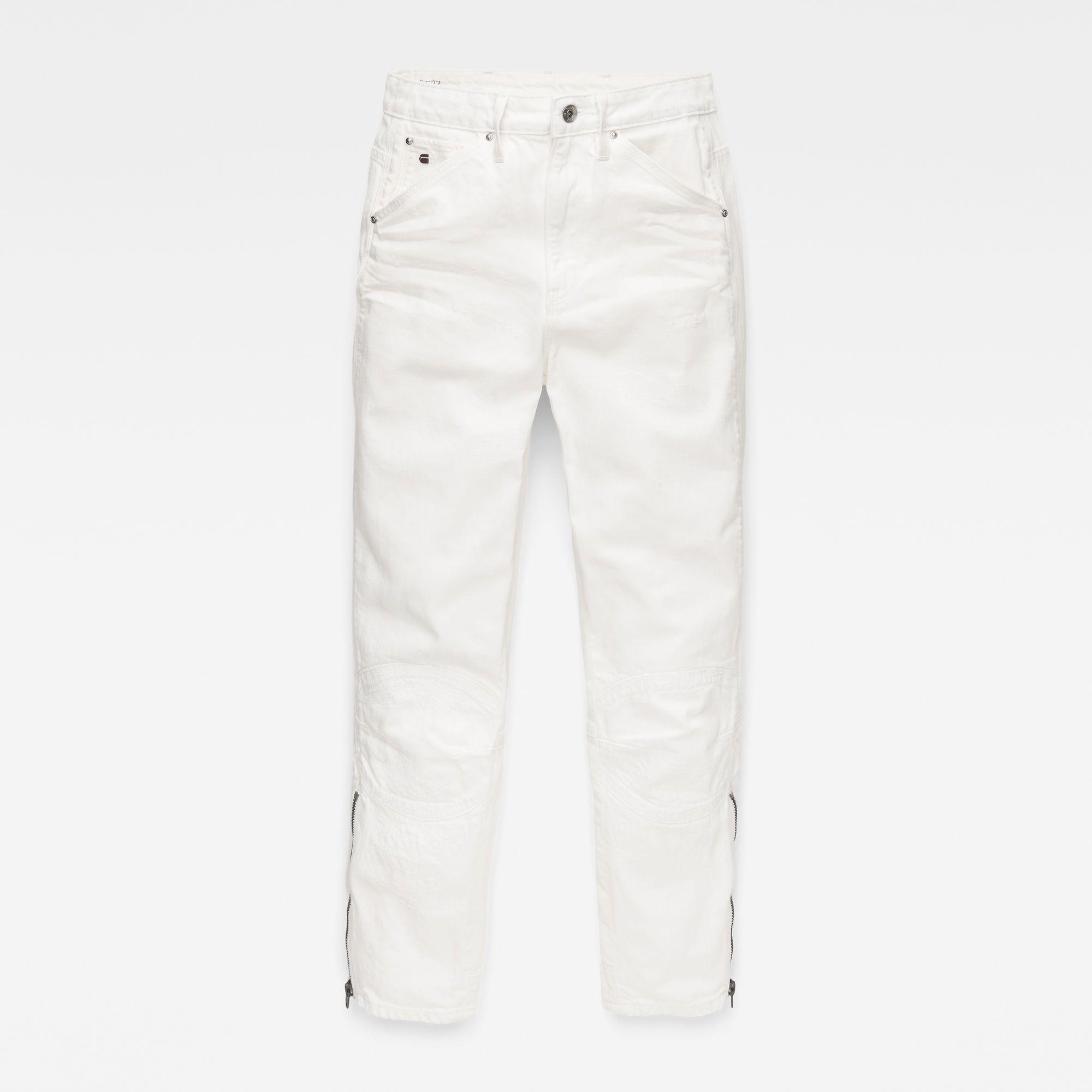 G-Star RAW Raw Essentials 5622 Ultra High Waist Straight 7/8 Jeans