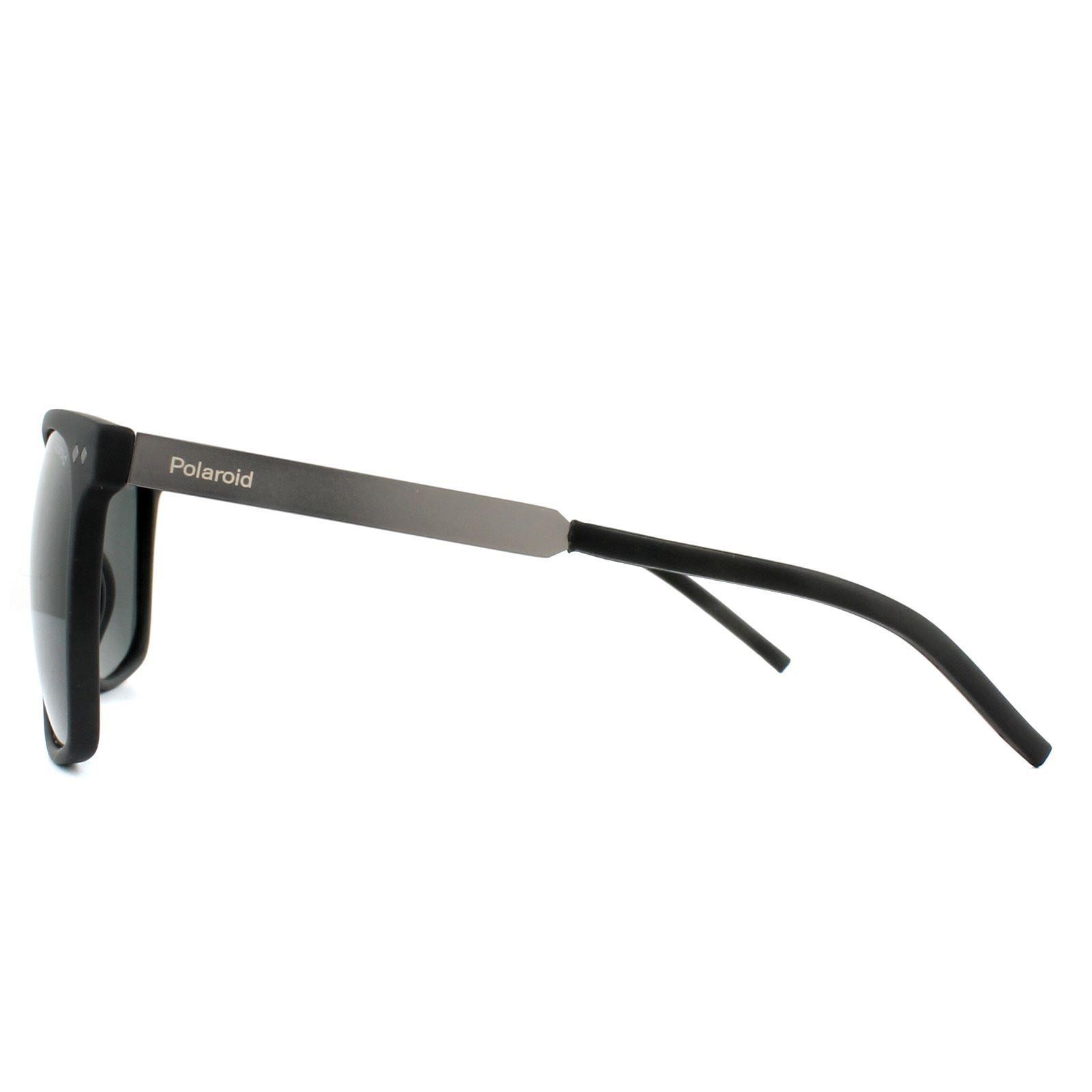 Polaroid Sunglasses PLD 1028/S 003 M9 Matt Black Grey Polarized