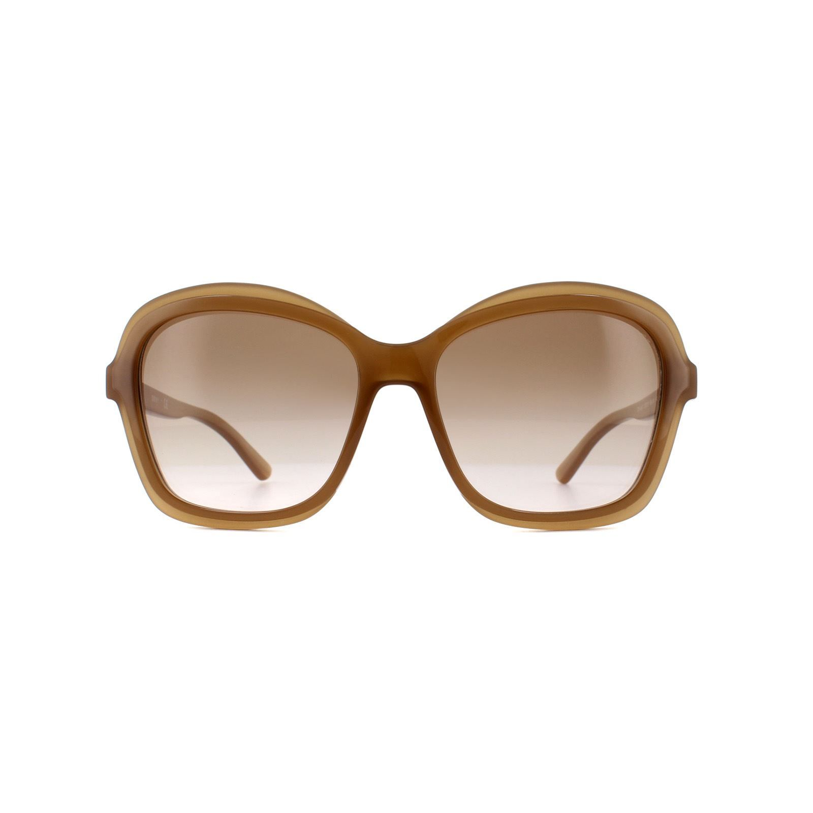 DKNY Sunglasses DY4147 372713 Milky Taupe Brown Blush Gradient