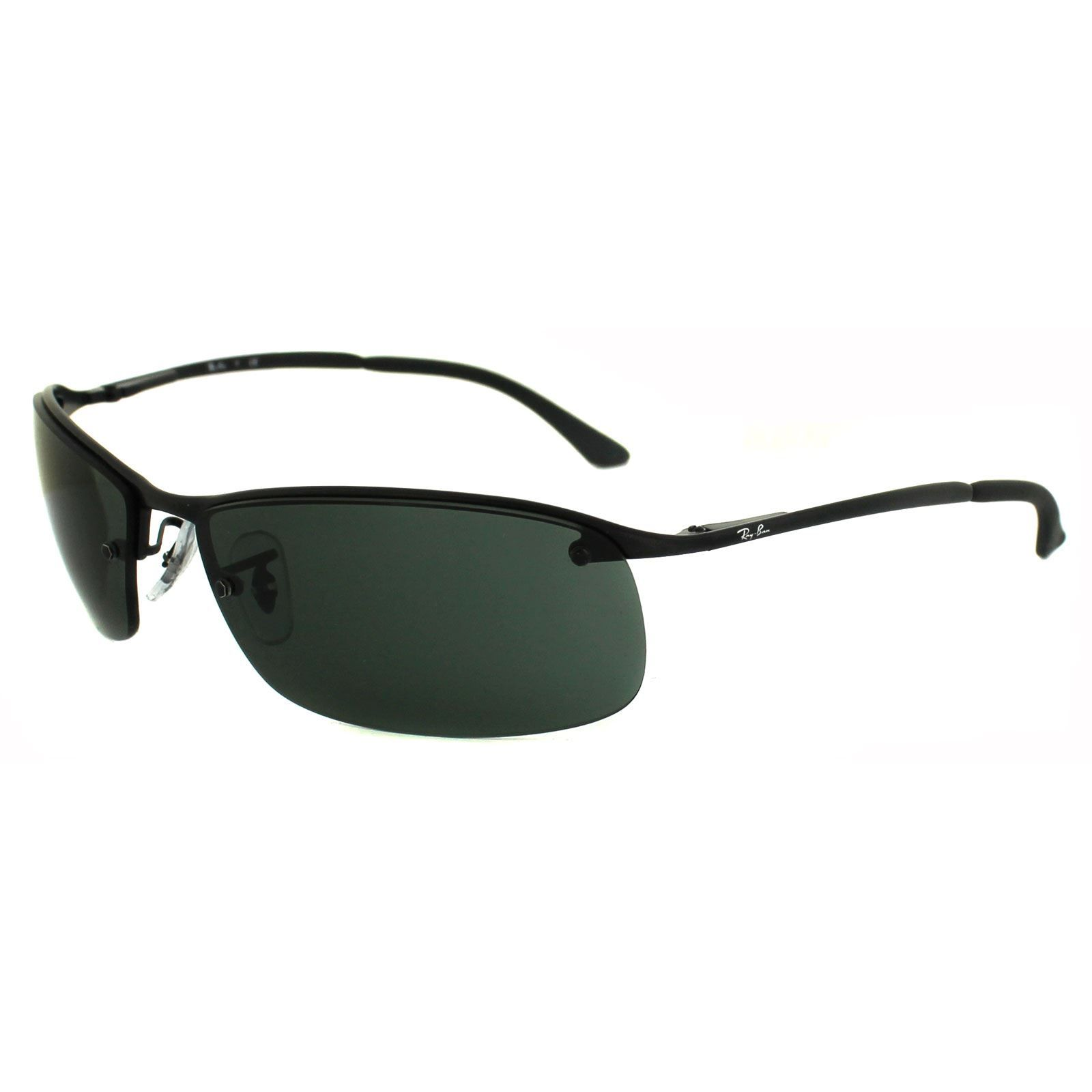 Ray-Ban Sunglasses 3183 006 71 Matt Black Green