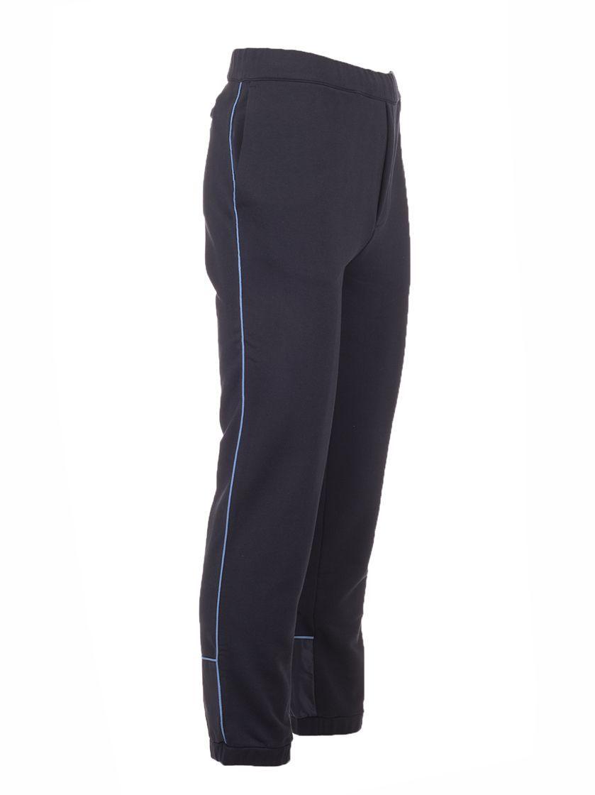 PRADA MEN'S SJP276S1921SRGF0YSY BLUE COTTON PANTS