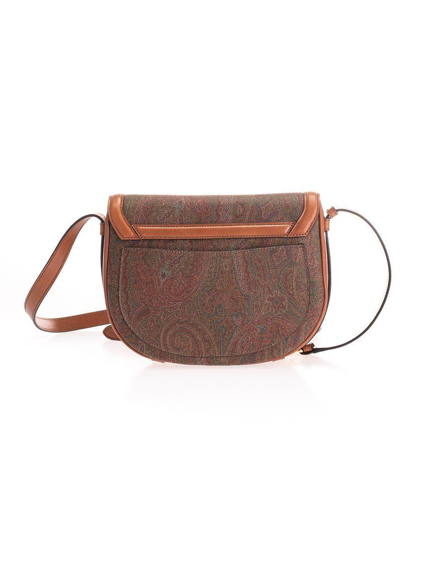 ETRO WOMEN'S 1I35182390600 MULTICOLOR COTTON SHOULDER BAG
