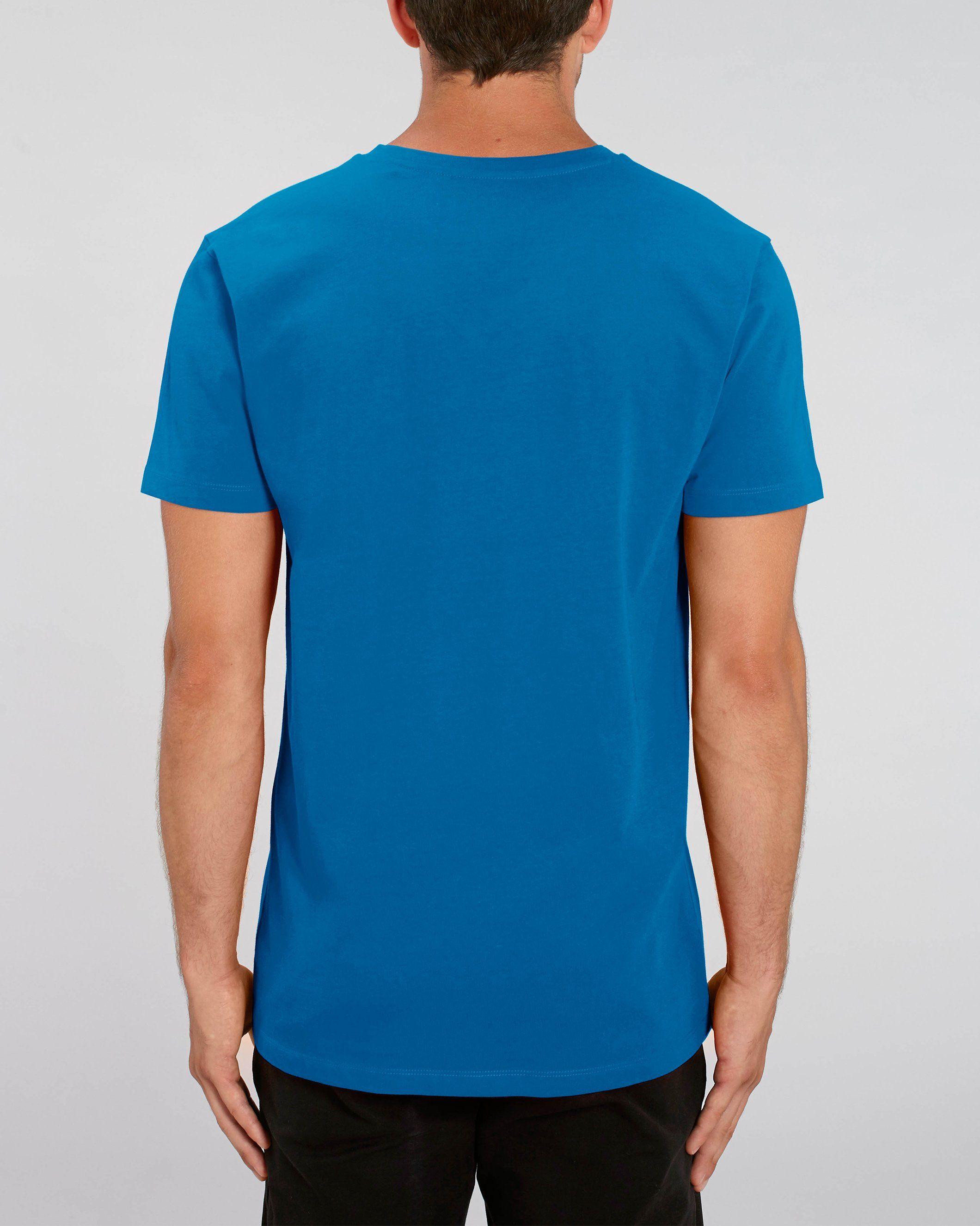 Chi Men's V-Neck T-Shirt in Blue