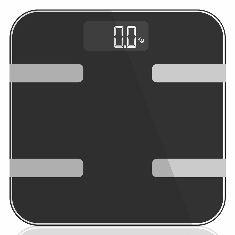 9 in 1 Digital Bathroom Scale - Space Grey