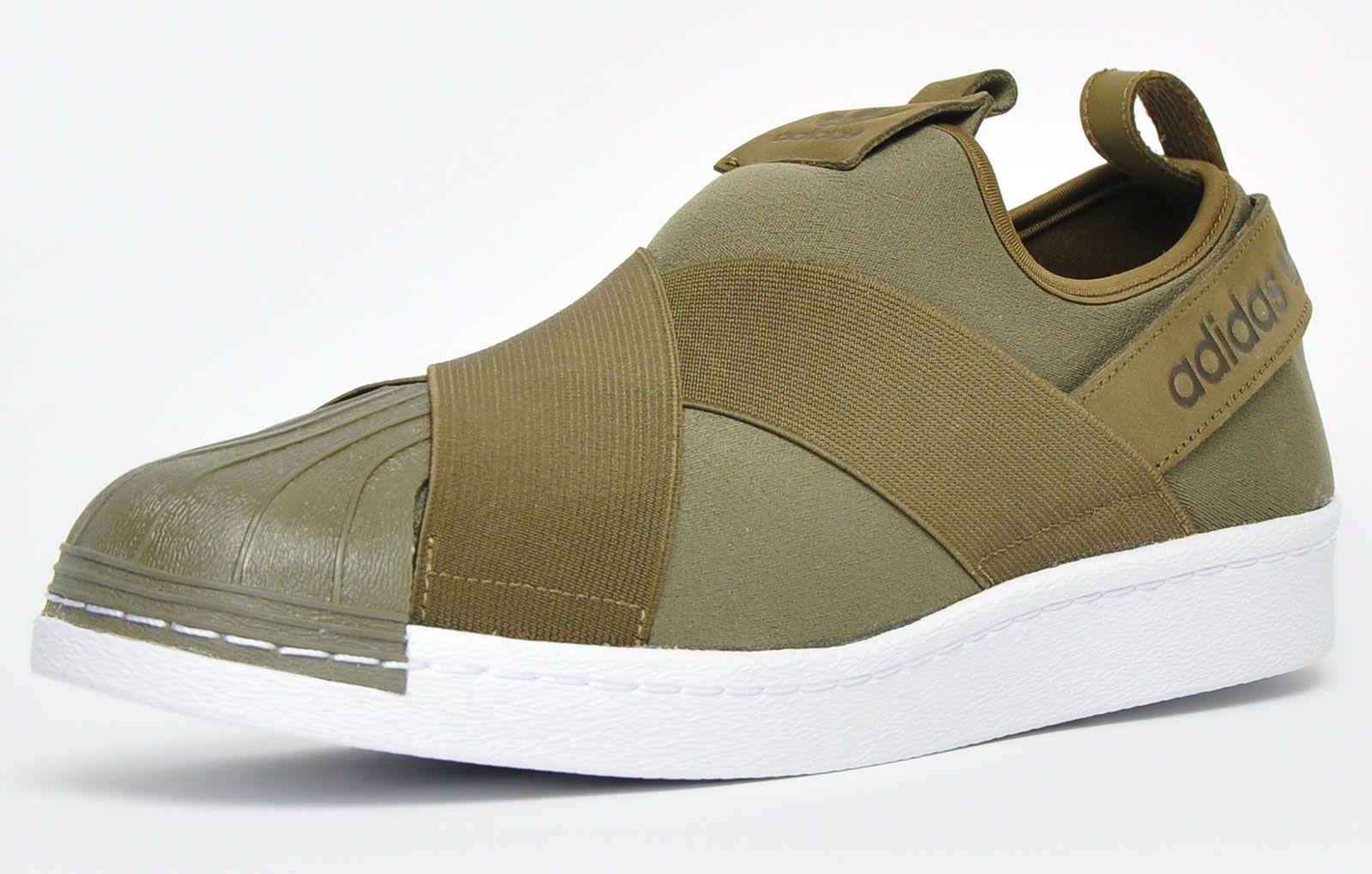 Adidas Originals Superstar Slip On Mens