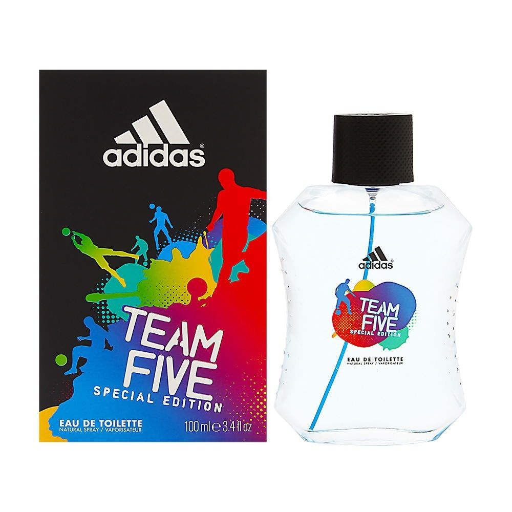 Adidas Team 5 Eau De Toilette Spray 100Ml