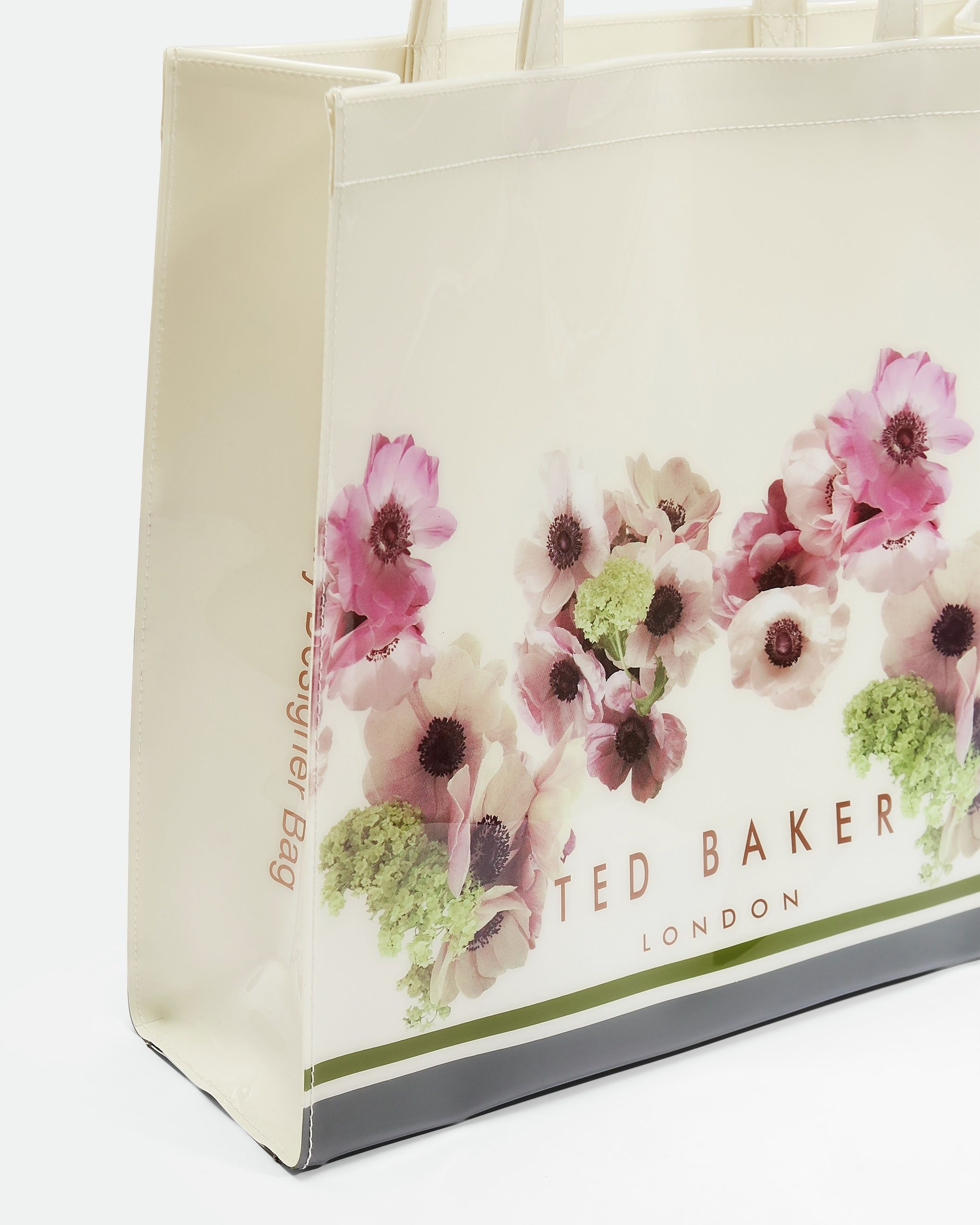 Ted Baker Ancon Neopolitan Lrg Icon Bag in Ivory