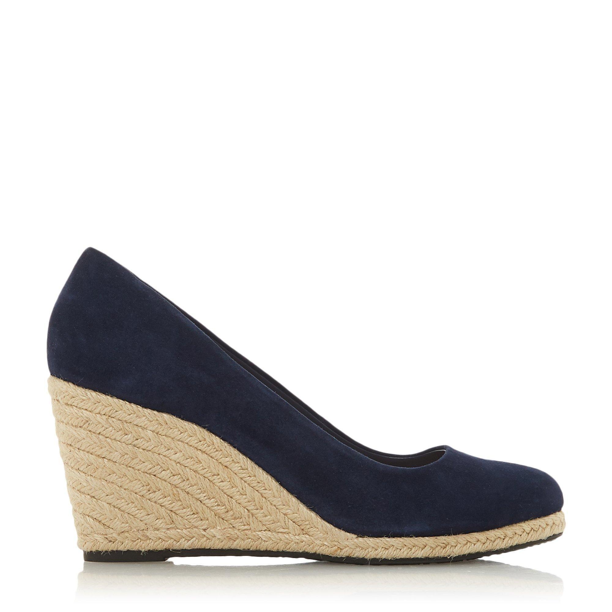 Dune Ladies ANNABELLA Heeled Espadrille Wedge Shoes