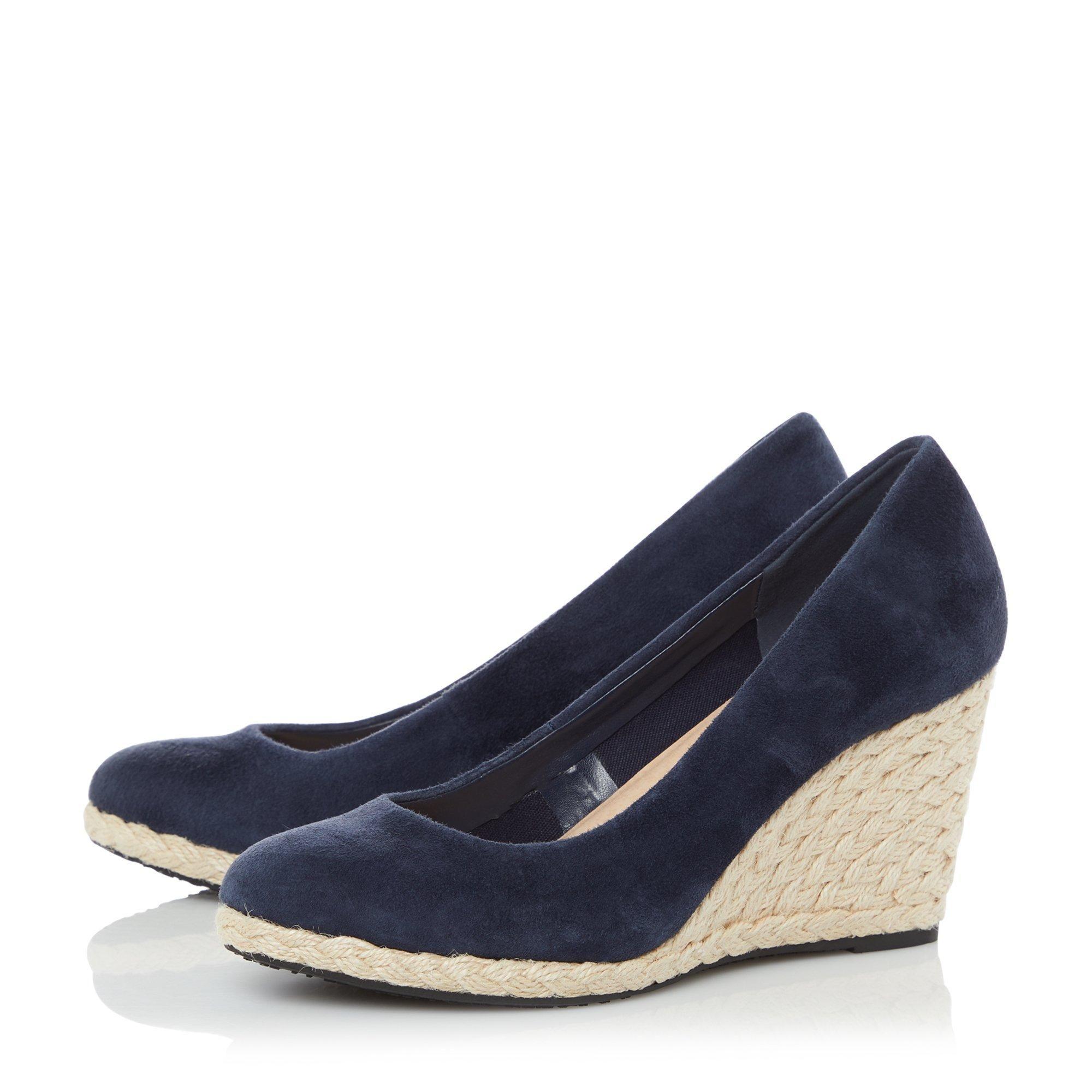 Dune Ladies ANNABELS Wedge Heel Espadrille Shoes