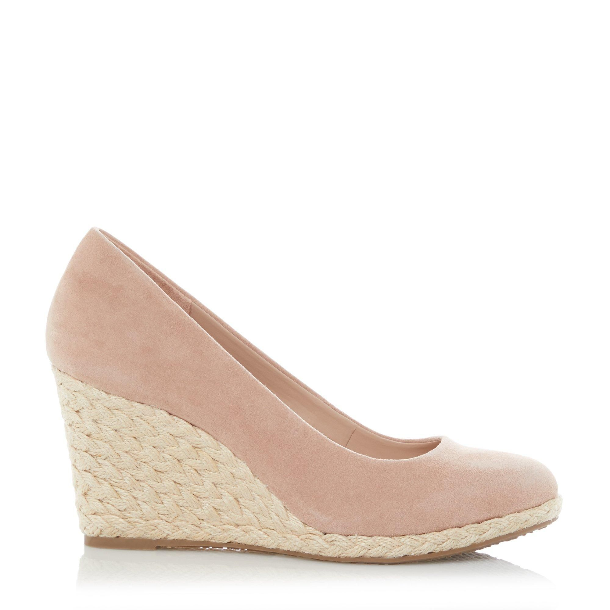 Dune Ladies ANNABELS Wedge Heel Espadrille Shoes