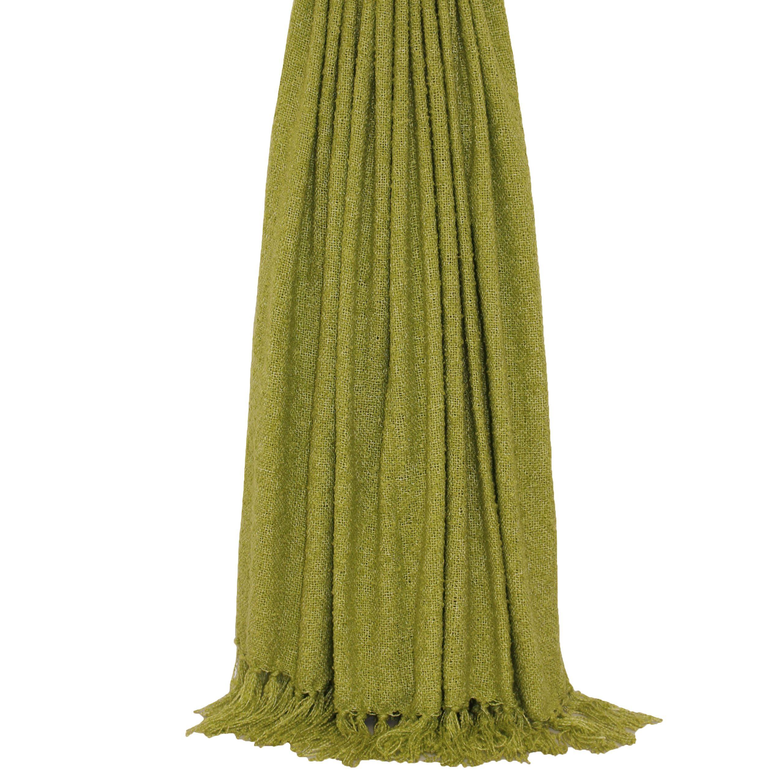 Auriella 127X180 Throw Green