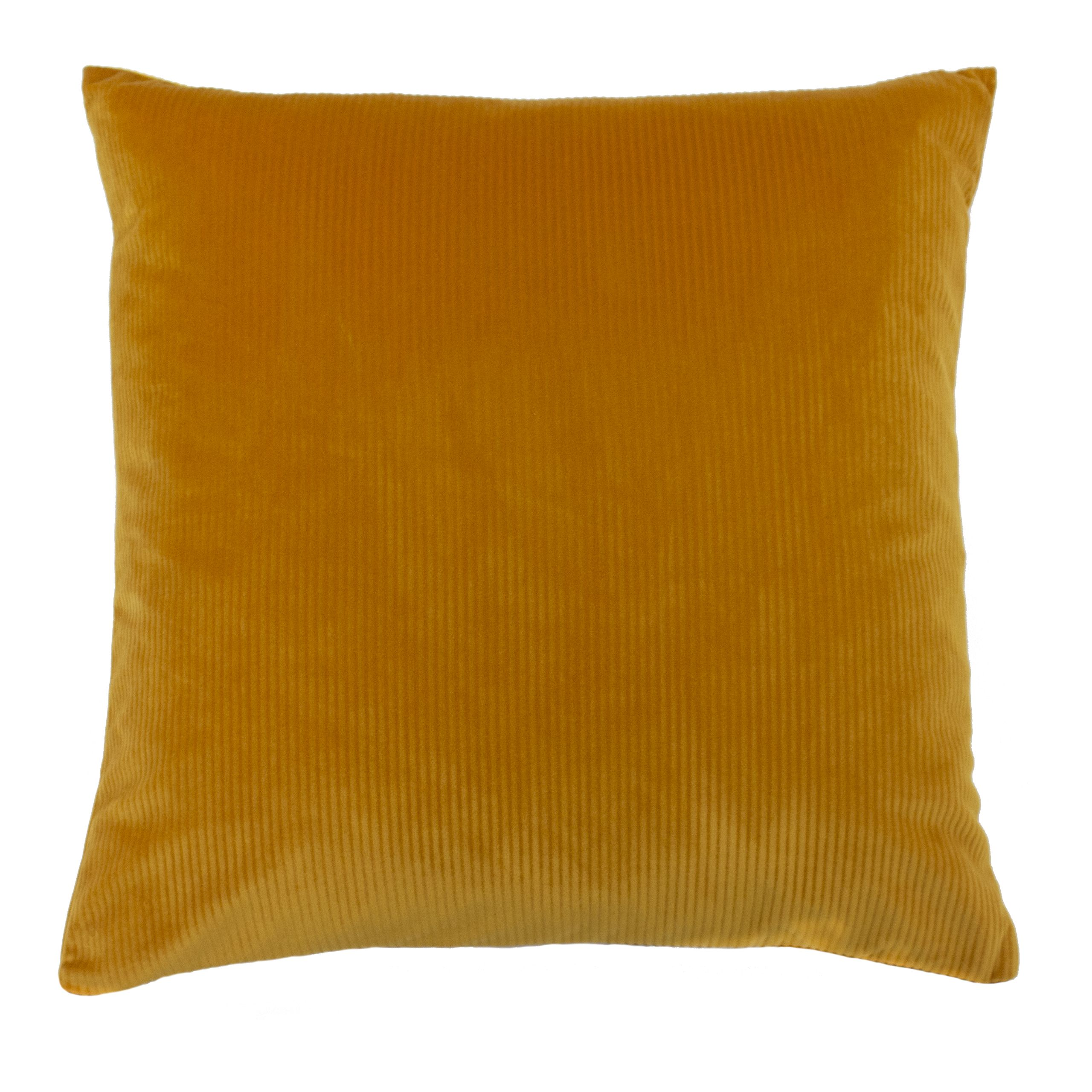 Aurora 45X45 Poly Cushion Ochre