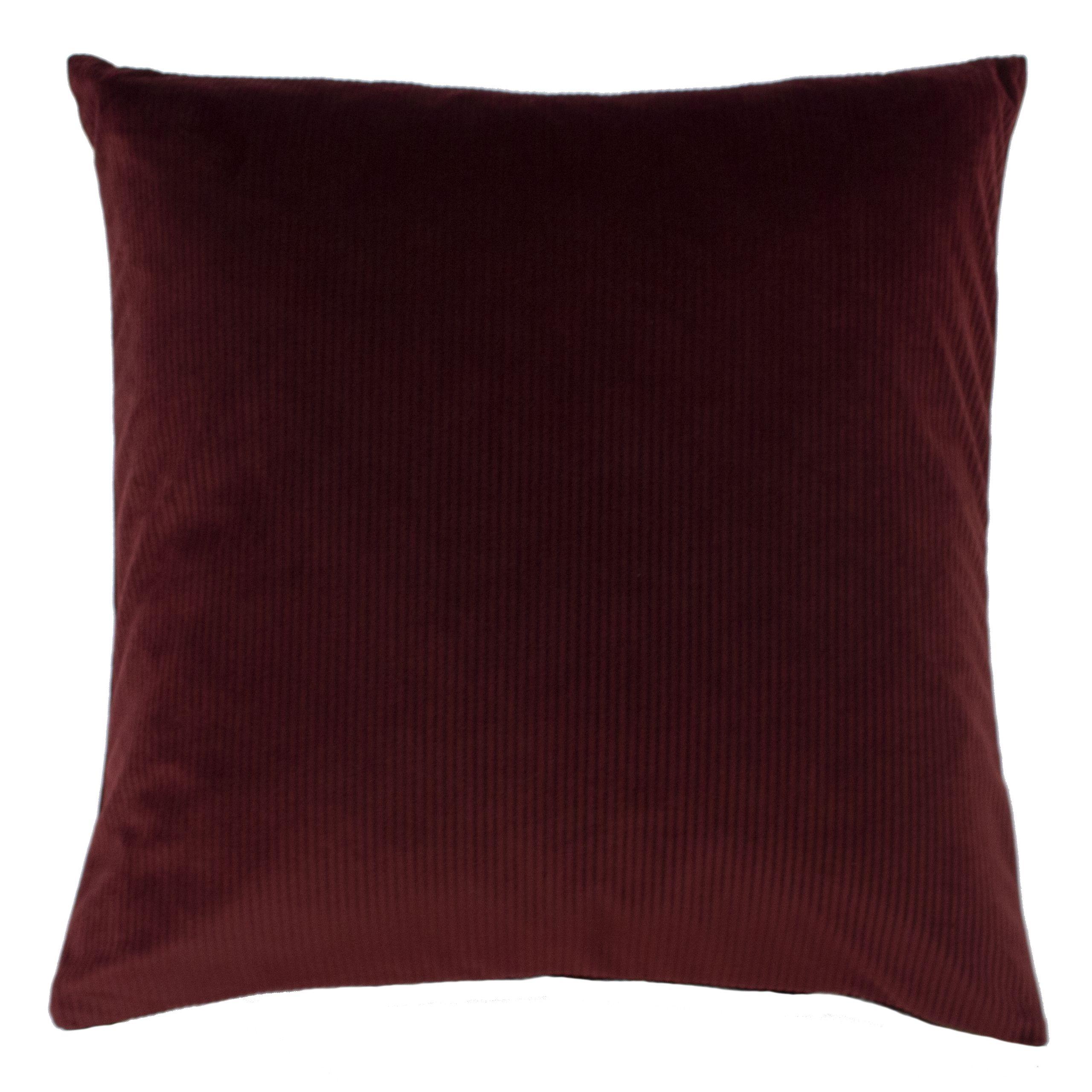 Aurora 45X45 Poly Cushion Ox Blood