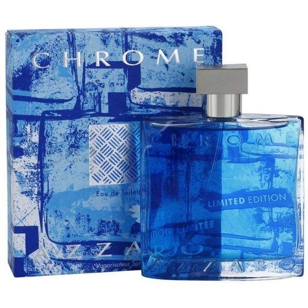 Azzaro Chrome Limited Edition Eau De Toilette Spray 100Ml