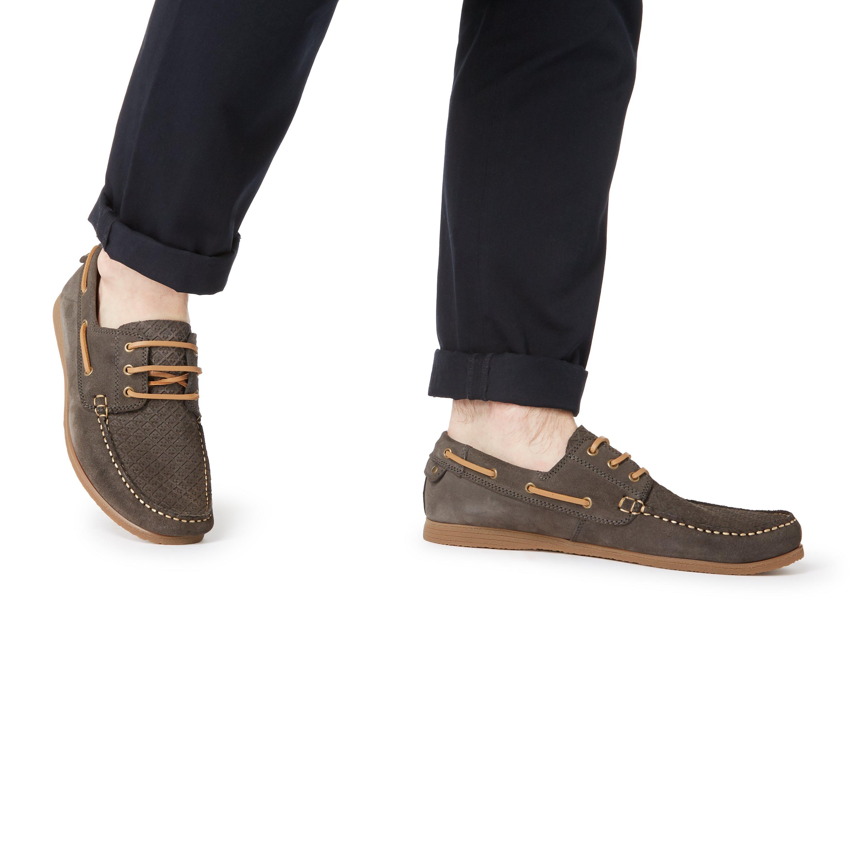 Bertie Mens BAHAMAS Embossed Boat Shoes