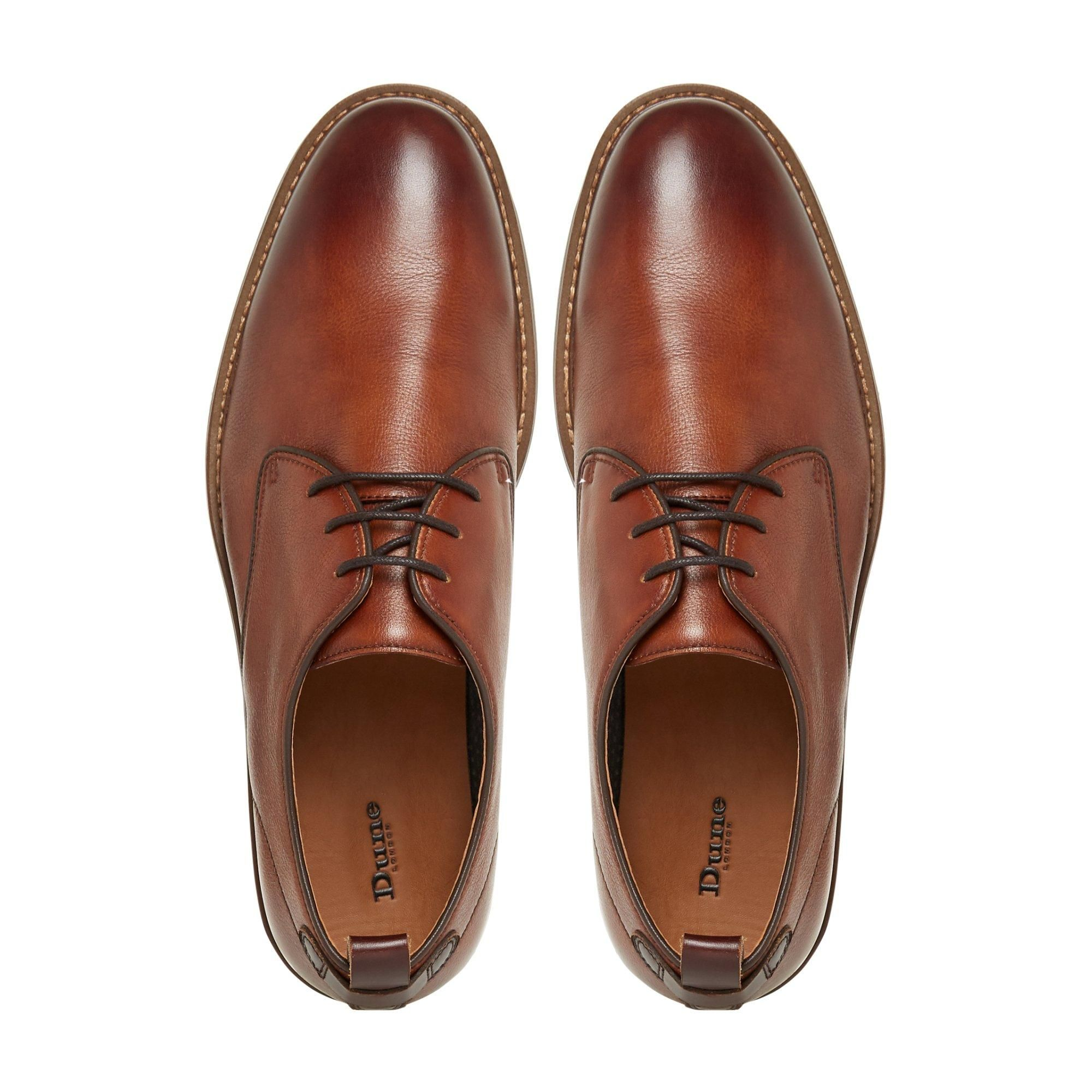 Dune Mens BAND Piped Gibson Shoes