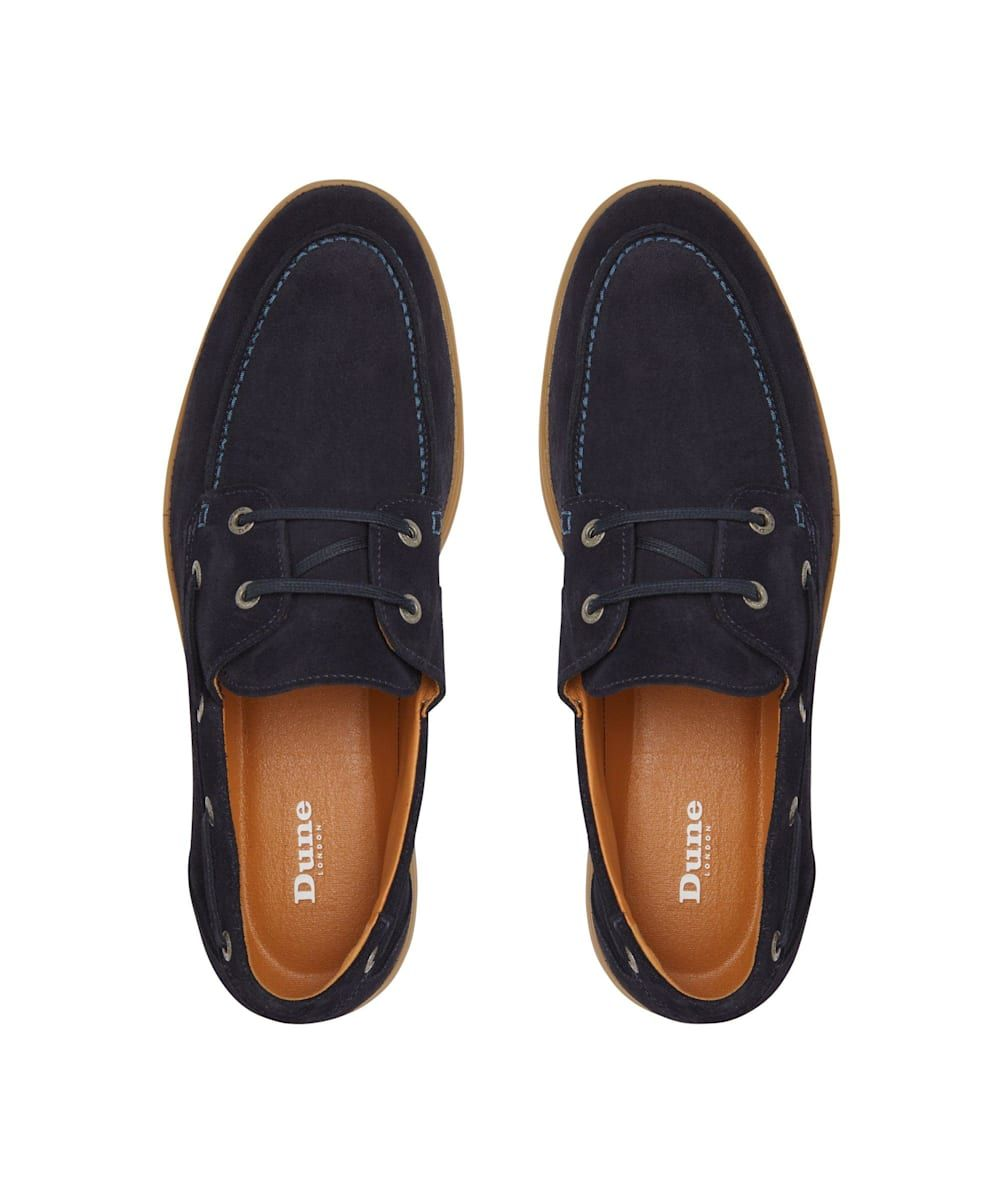 Dune Mens BARCLAY Casual Boat Shoes