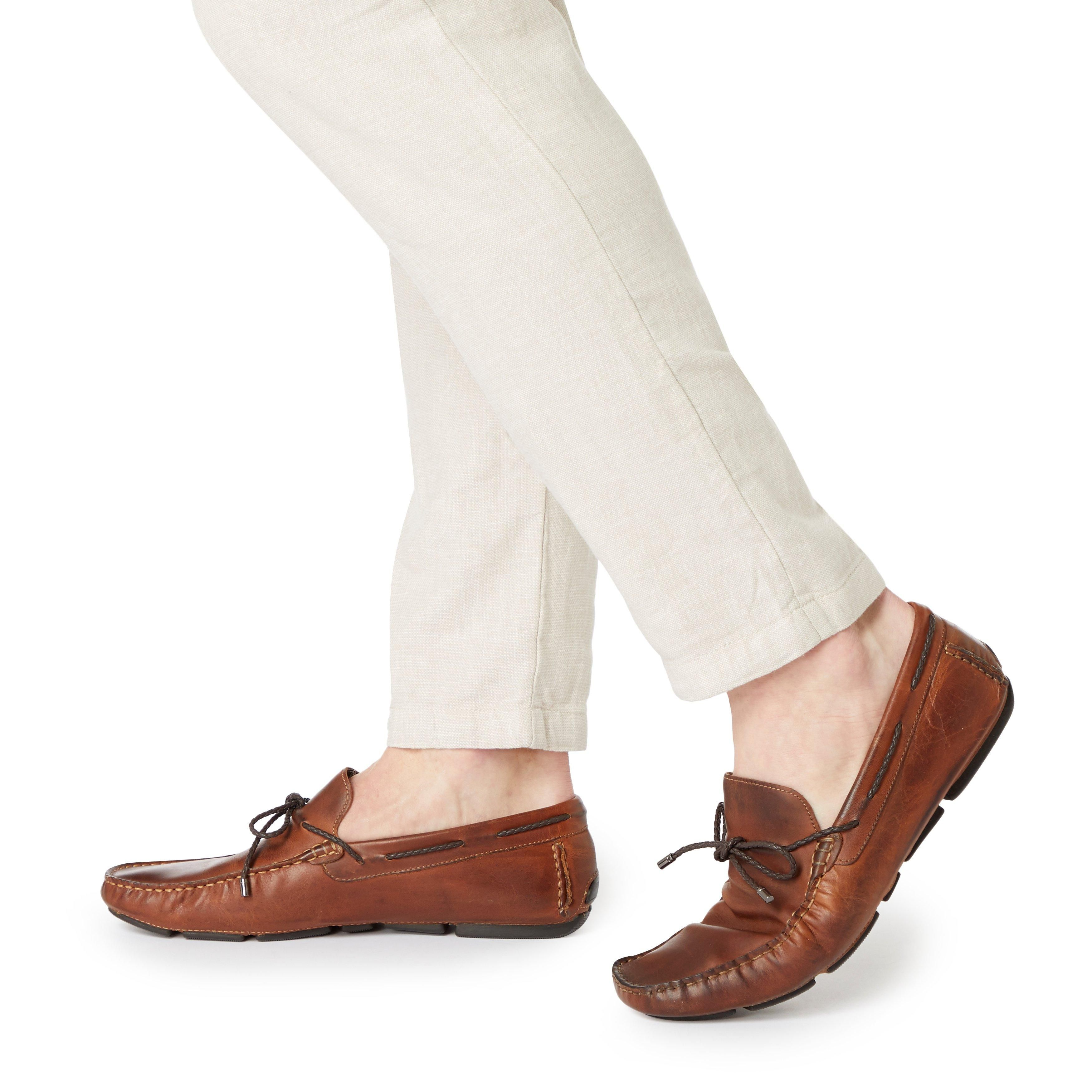 Dune Mens BARNACLE Plait Lace Up Driver Loafer
