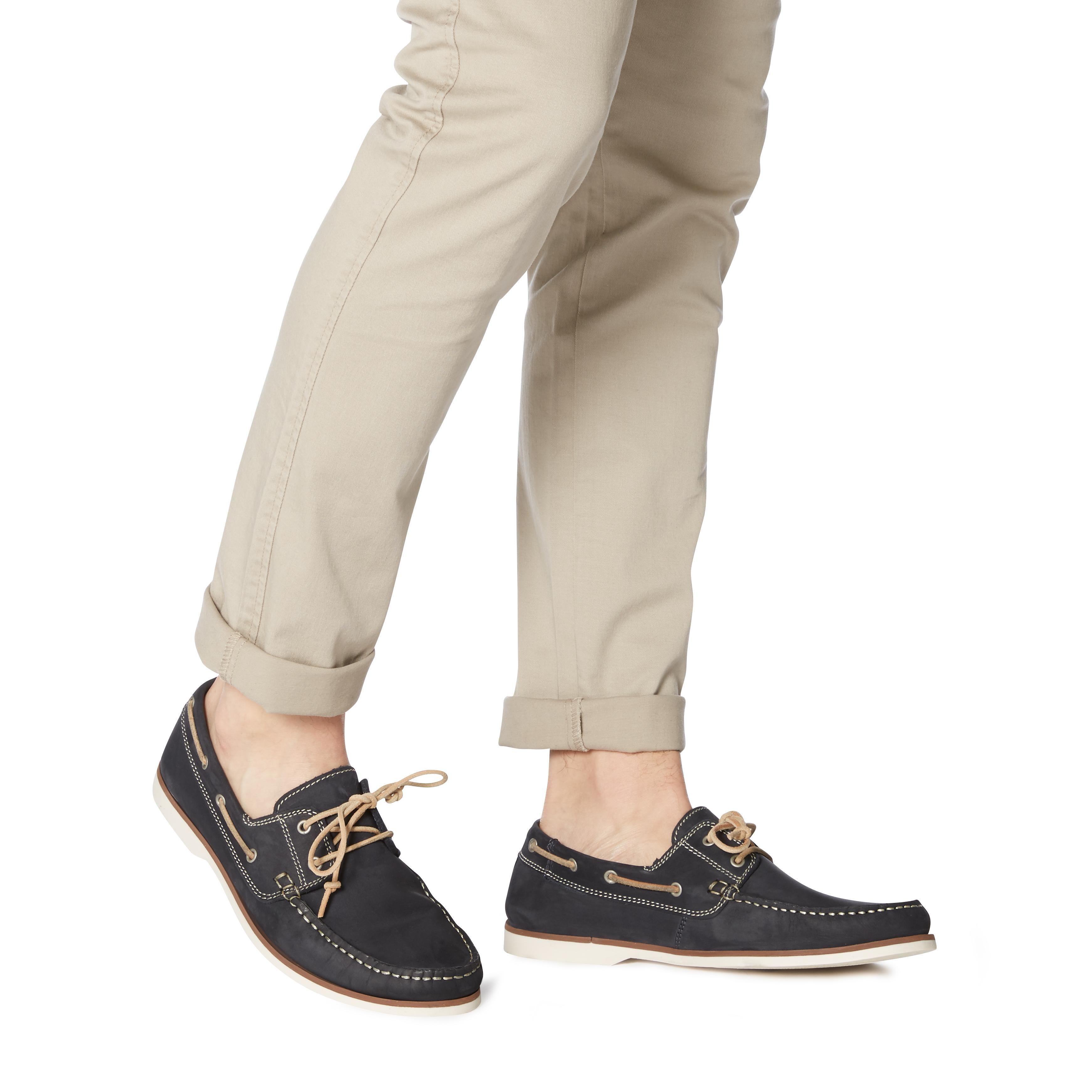 Bertie Mens BATTLESHIP Lace Up Boat Shoes