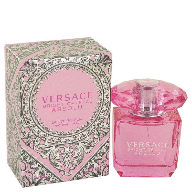 Bright Crystal Absolu Eau De Parfum Spray By Versace 30 ml