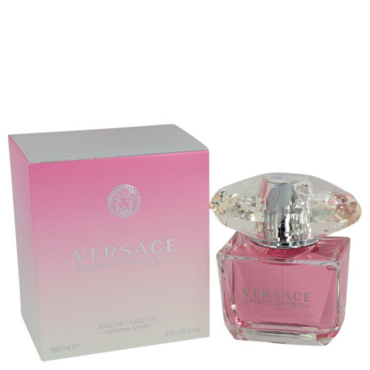 Bright Crystal Eau De Toilette Spray By Versace 90 ml