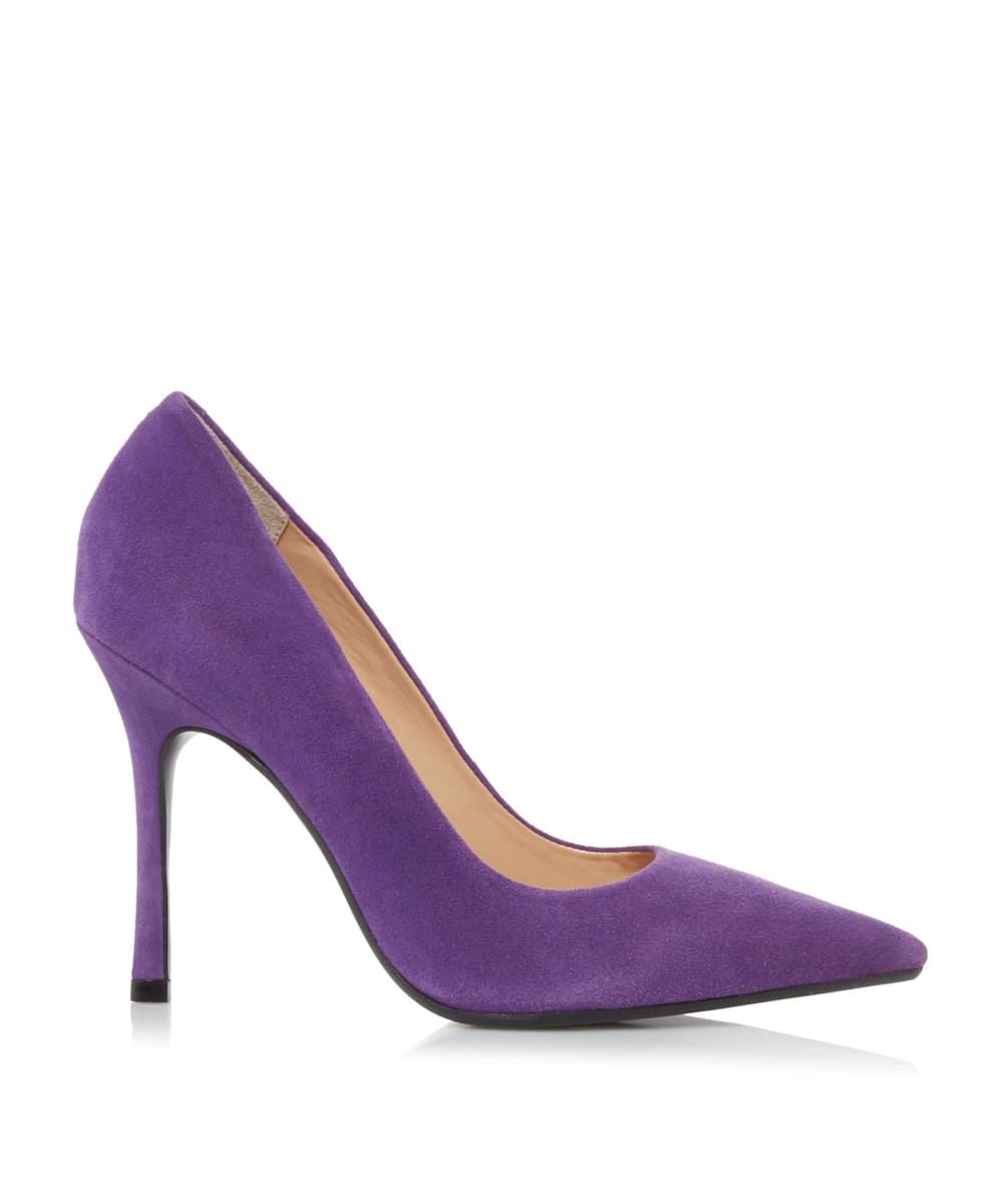 Dune Ladies BELAIRE Pointed Toe Mid Heel Court Shoes
