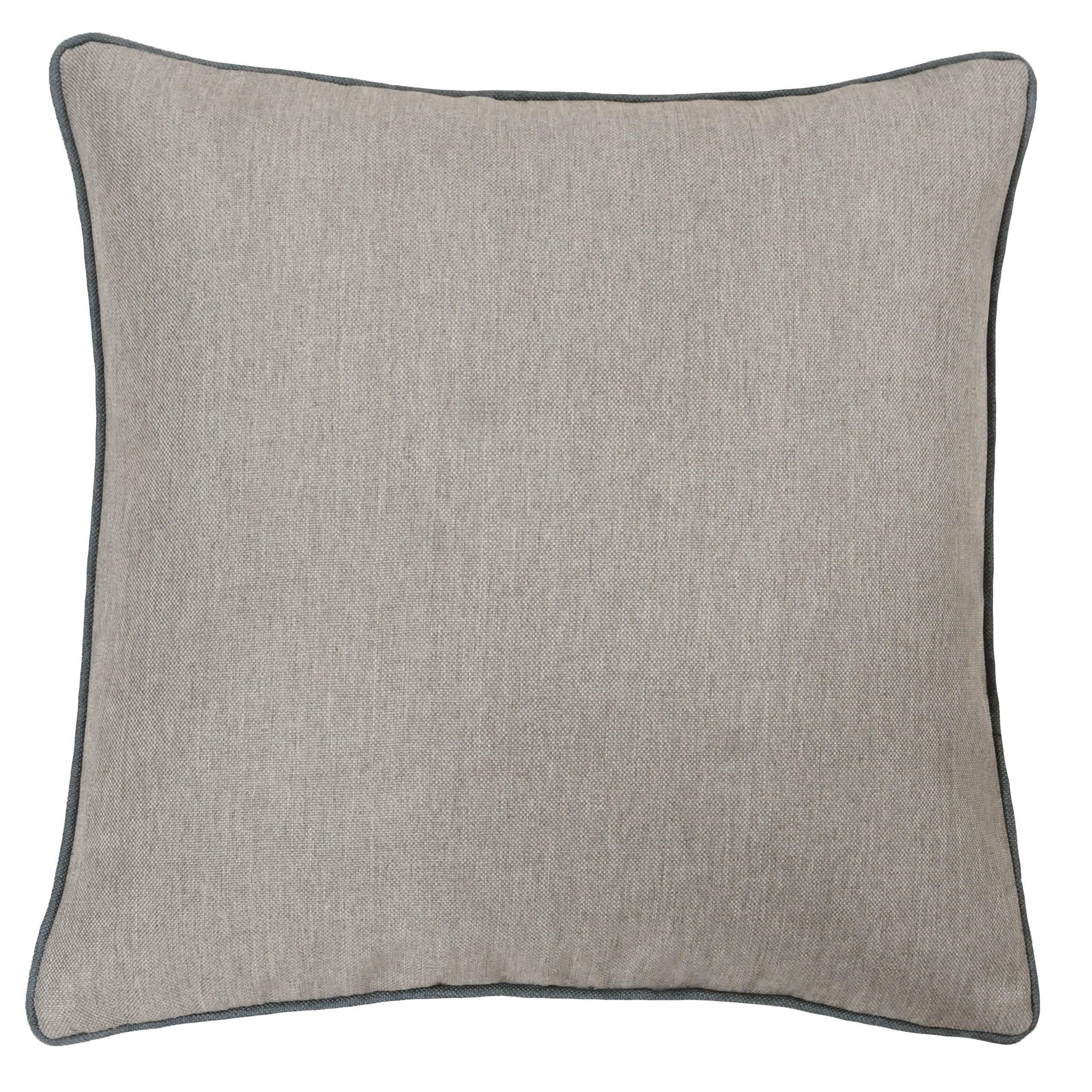 Bellucci 45X45 Poly Cushion Gra/Tob