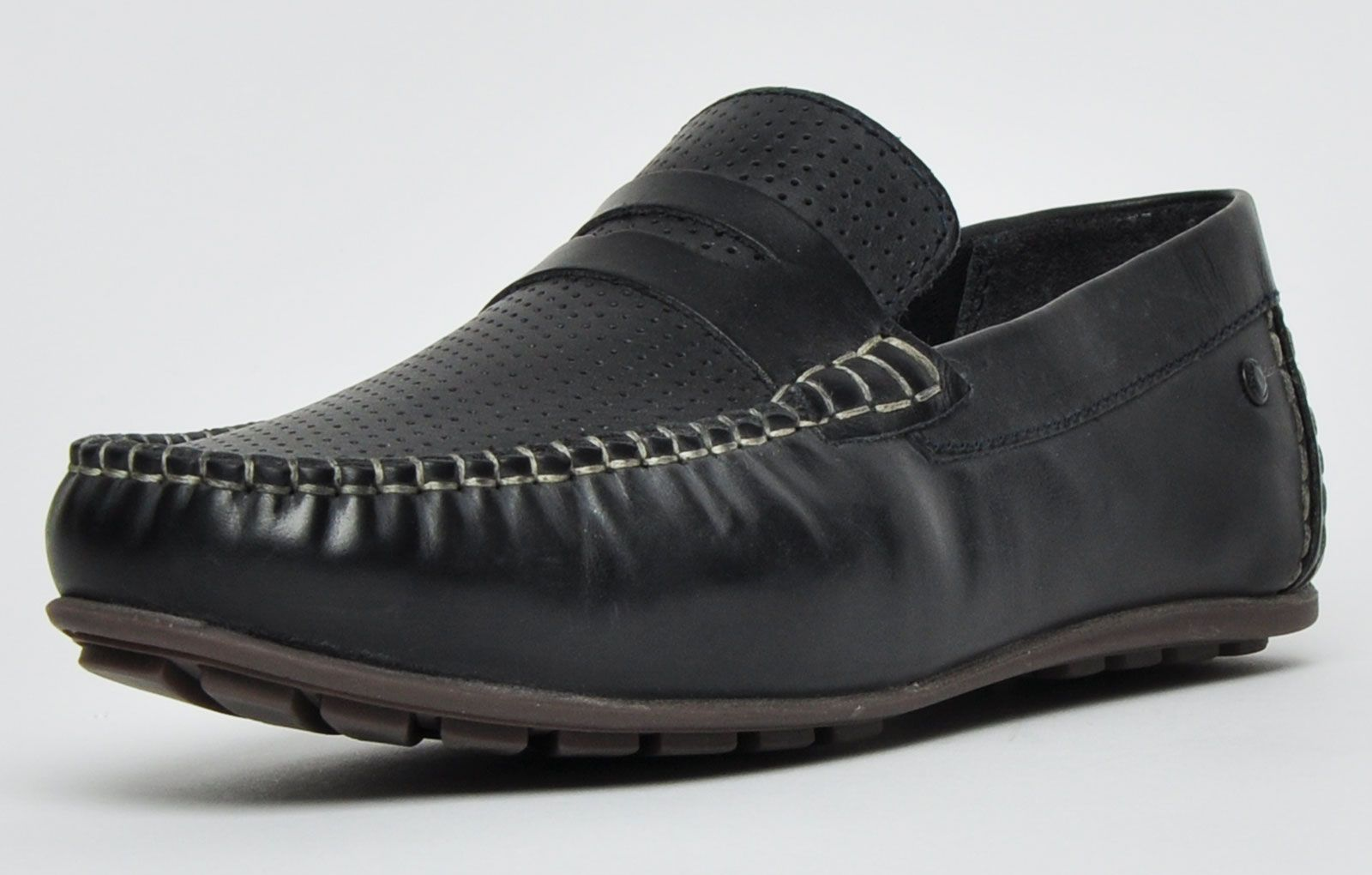 Base London Attwood Leather Mens
