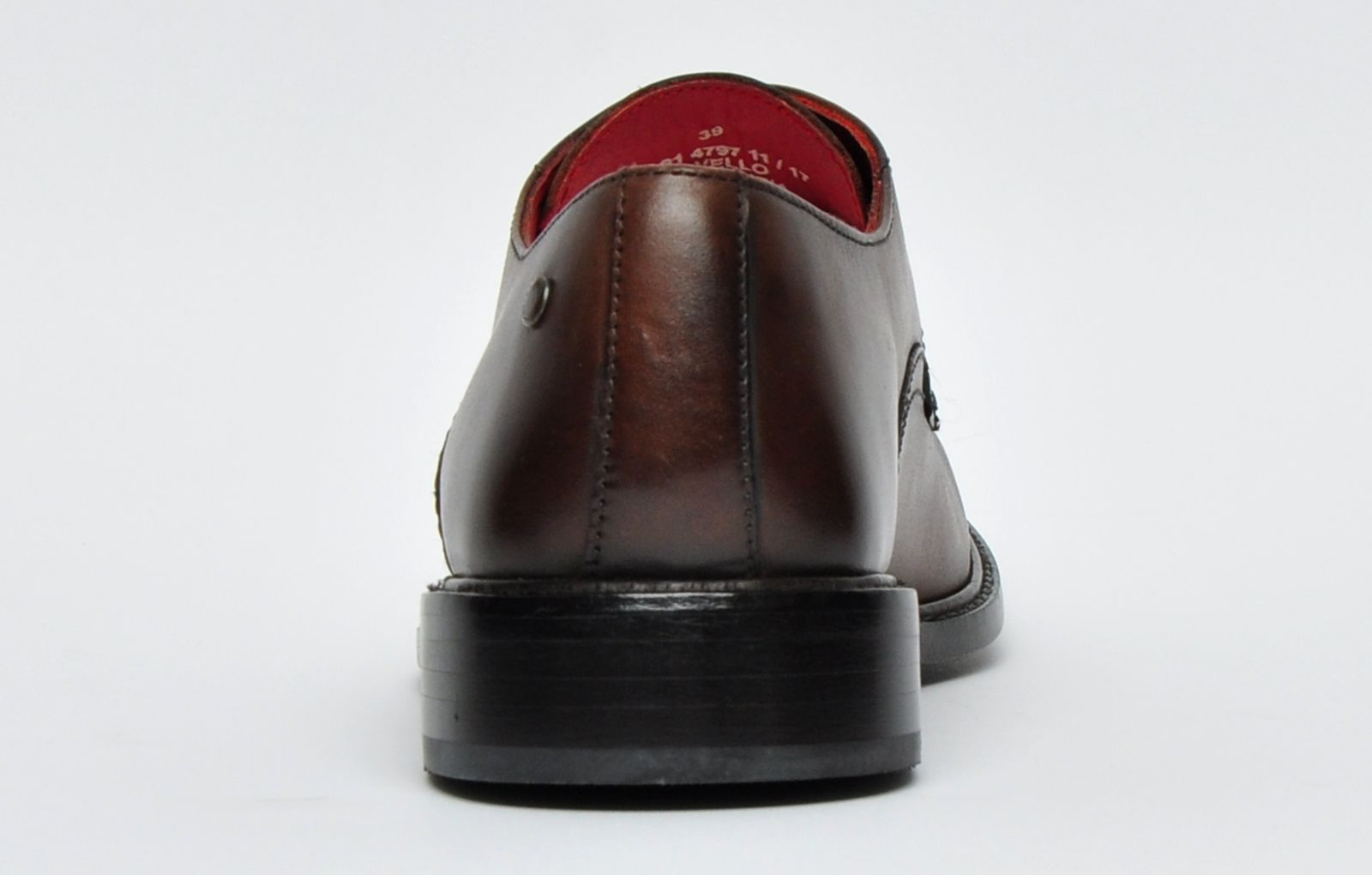 Base London Novello Leather Mens