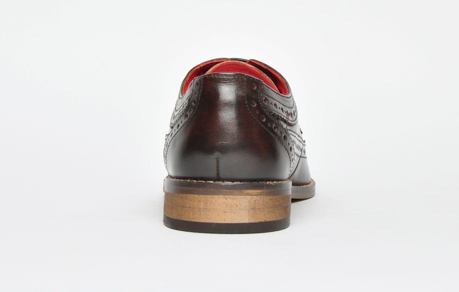 Base London Durham Leather Mens