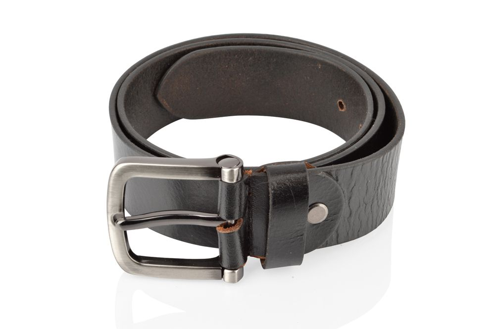 Mens Classic Black Jean Belt 38mm
