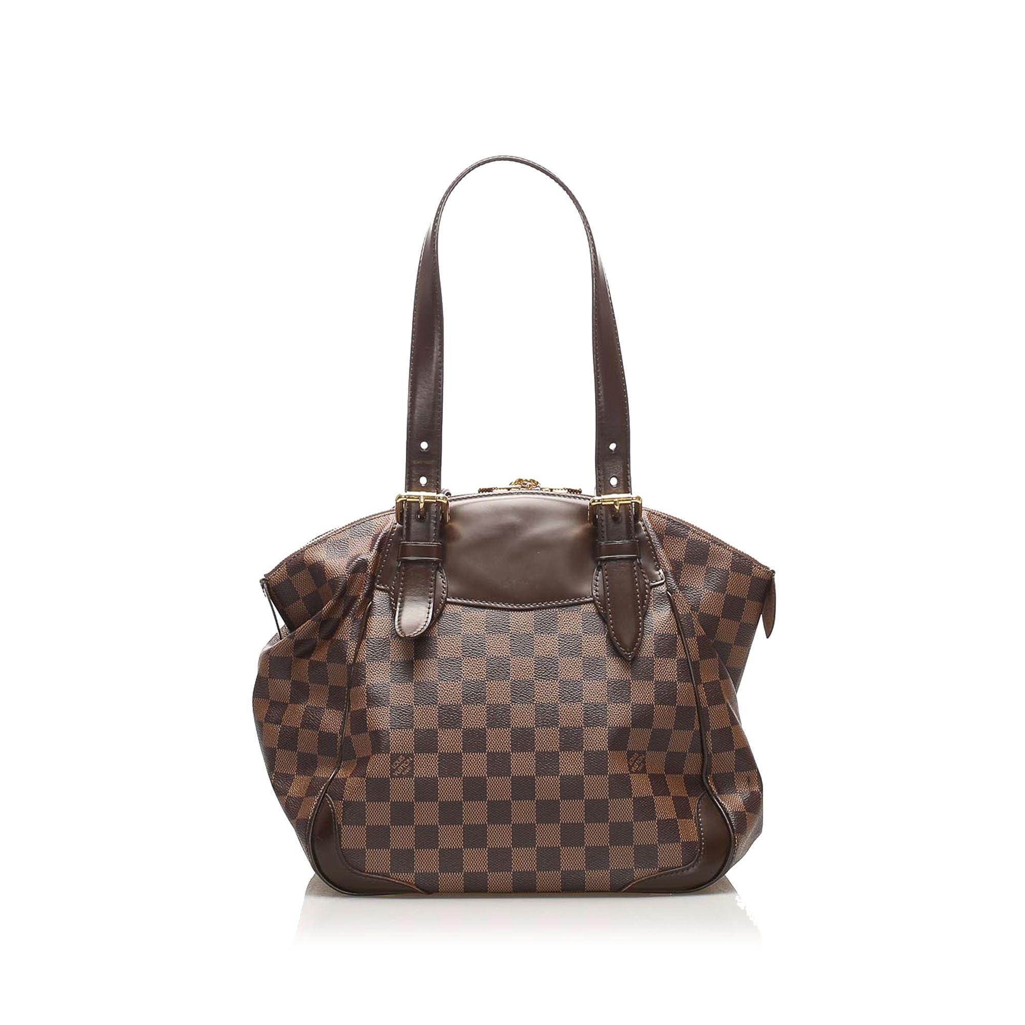 Vintage Louis Vuitton Damier Ebene Verona MM Brown