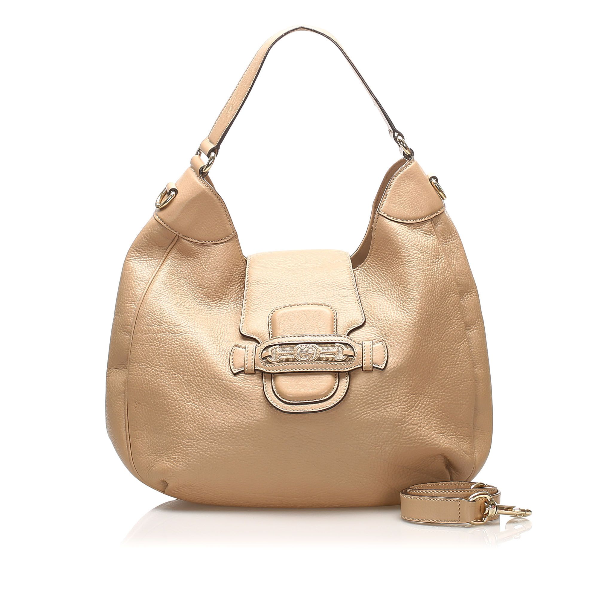 Vintage Gucci Leather Satchel Brown