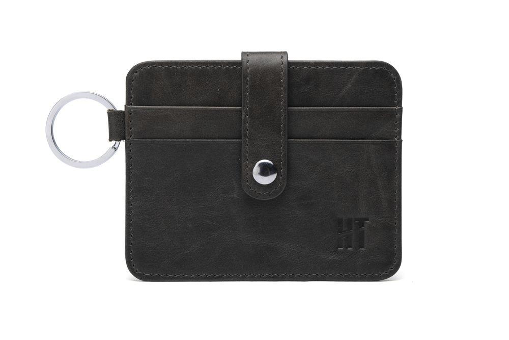 Hautton Black Thin 4 Credit Card Holder