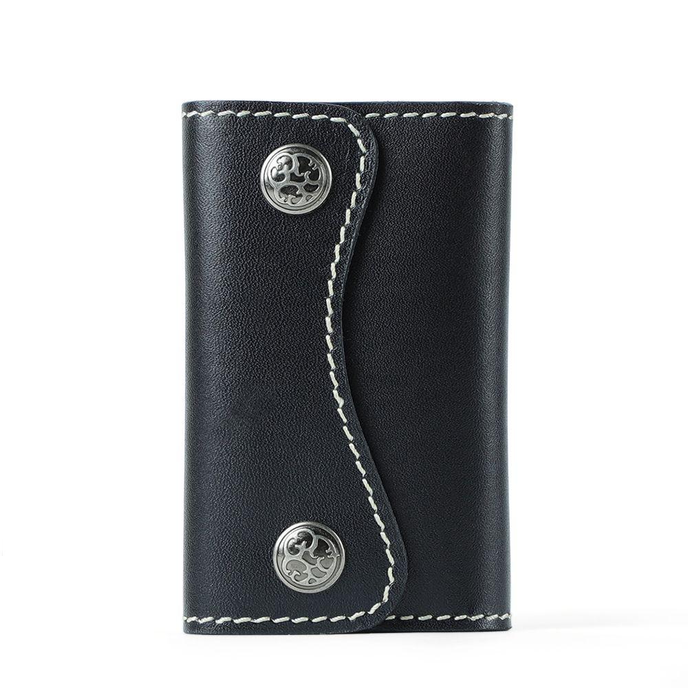Unisex Leather Key Wallet