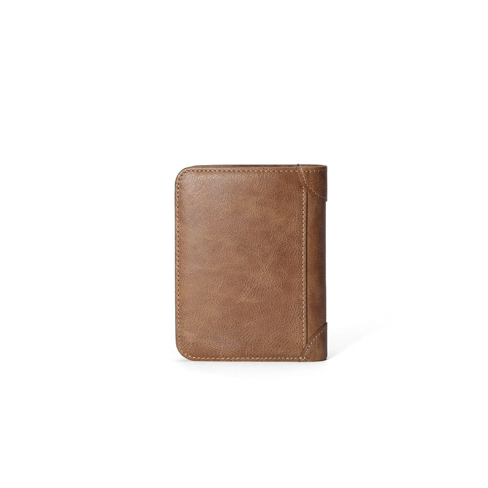 Hautton Tan Classic 8 Credit Card Slot Wallet