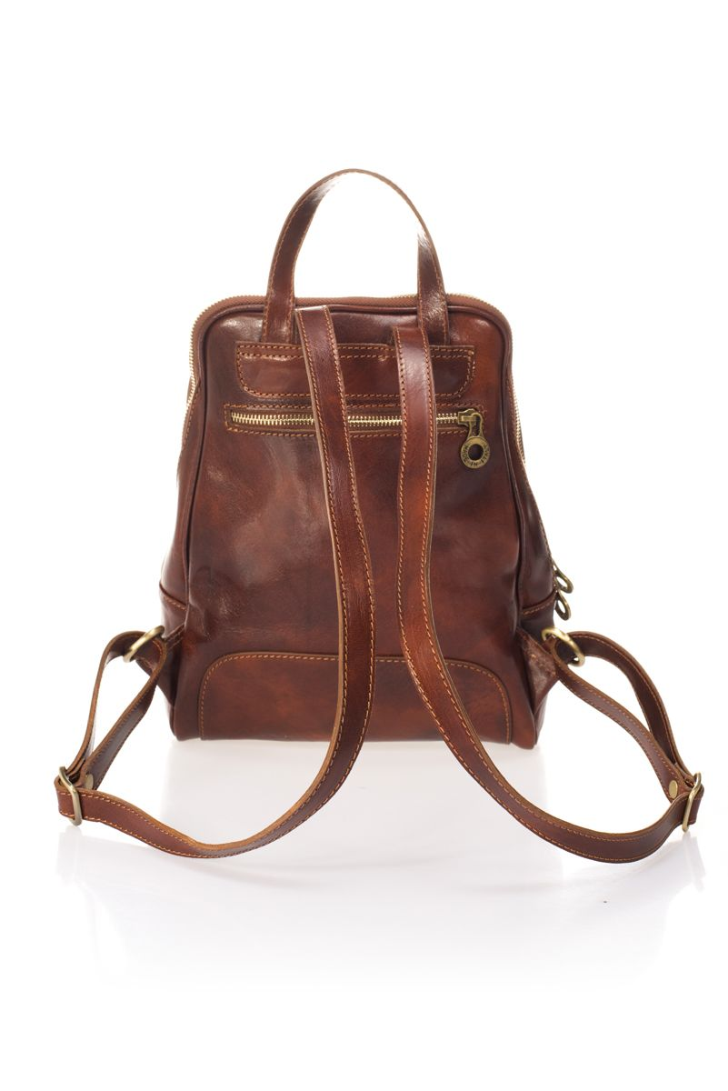 Women's Classic Leather Backpack